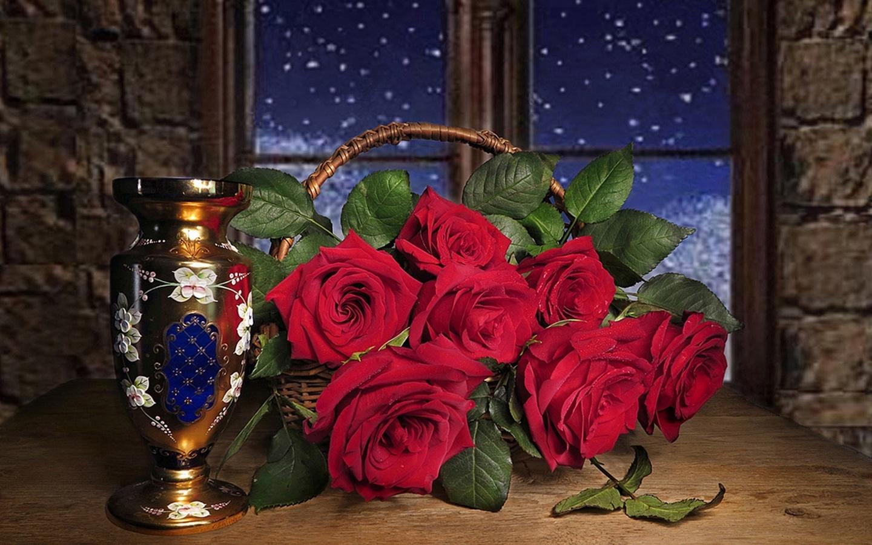 то, добрый вечер картинки букет роз жителей беспрекословно выполняют
