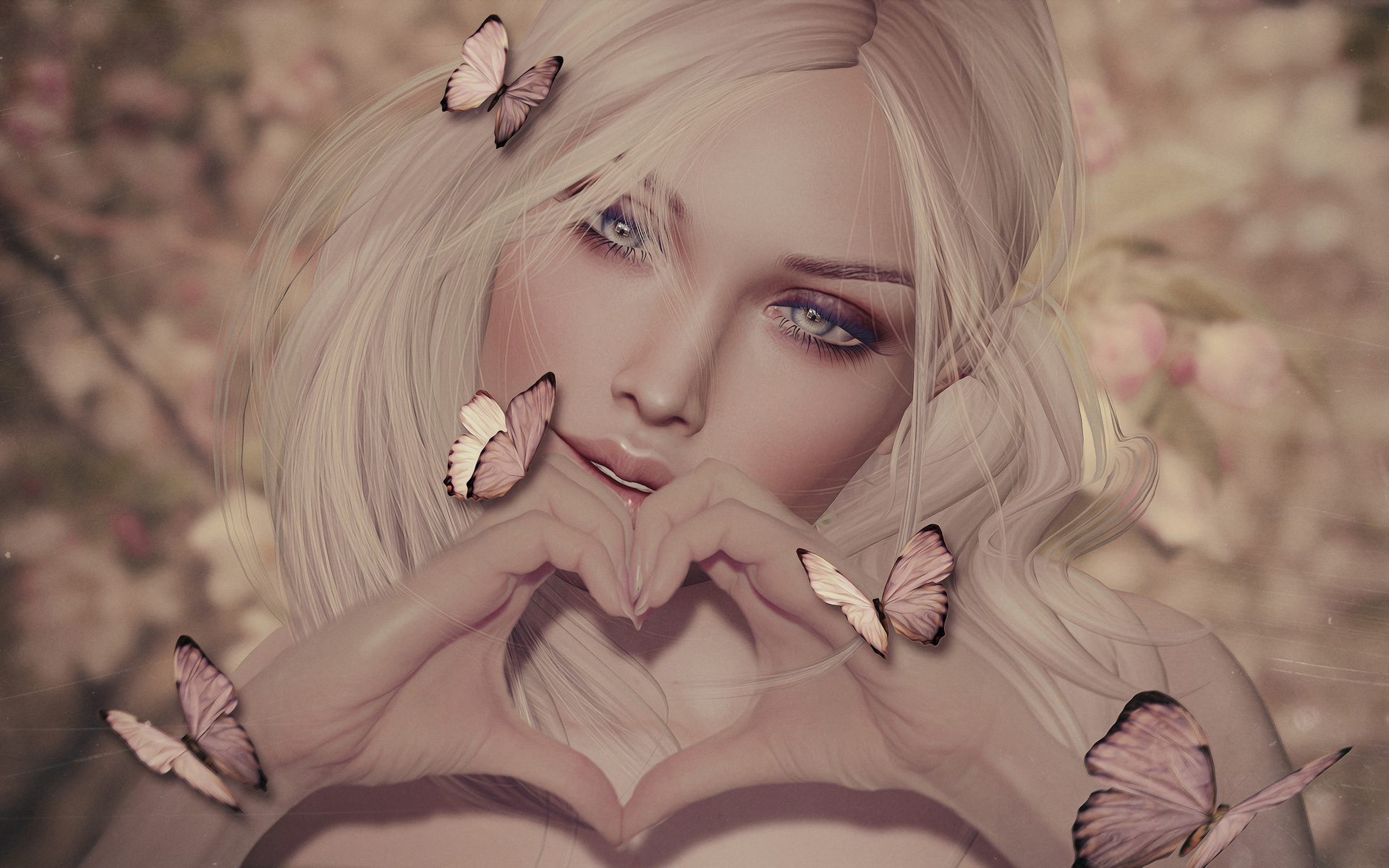 Картинки блондинок аватары