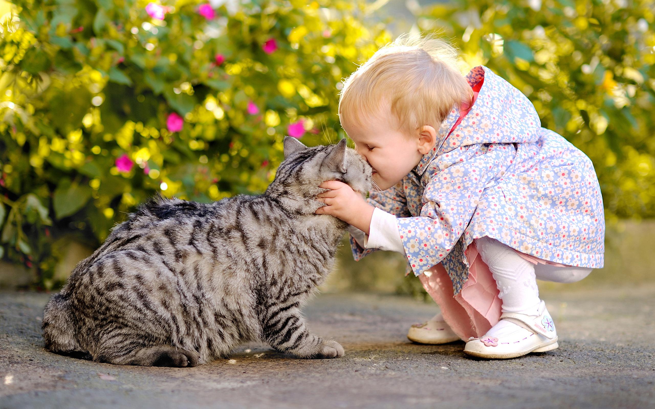 Прикольные картинки с животными детьми