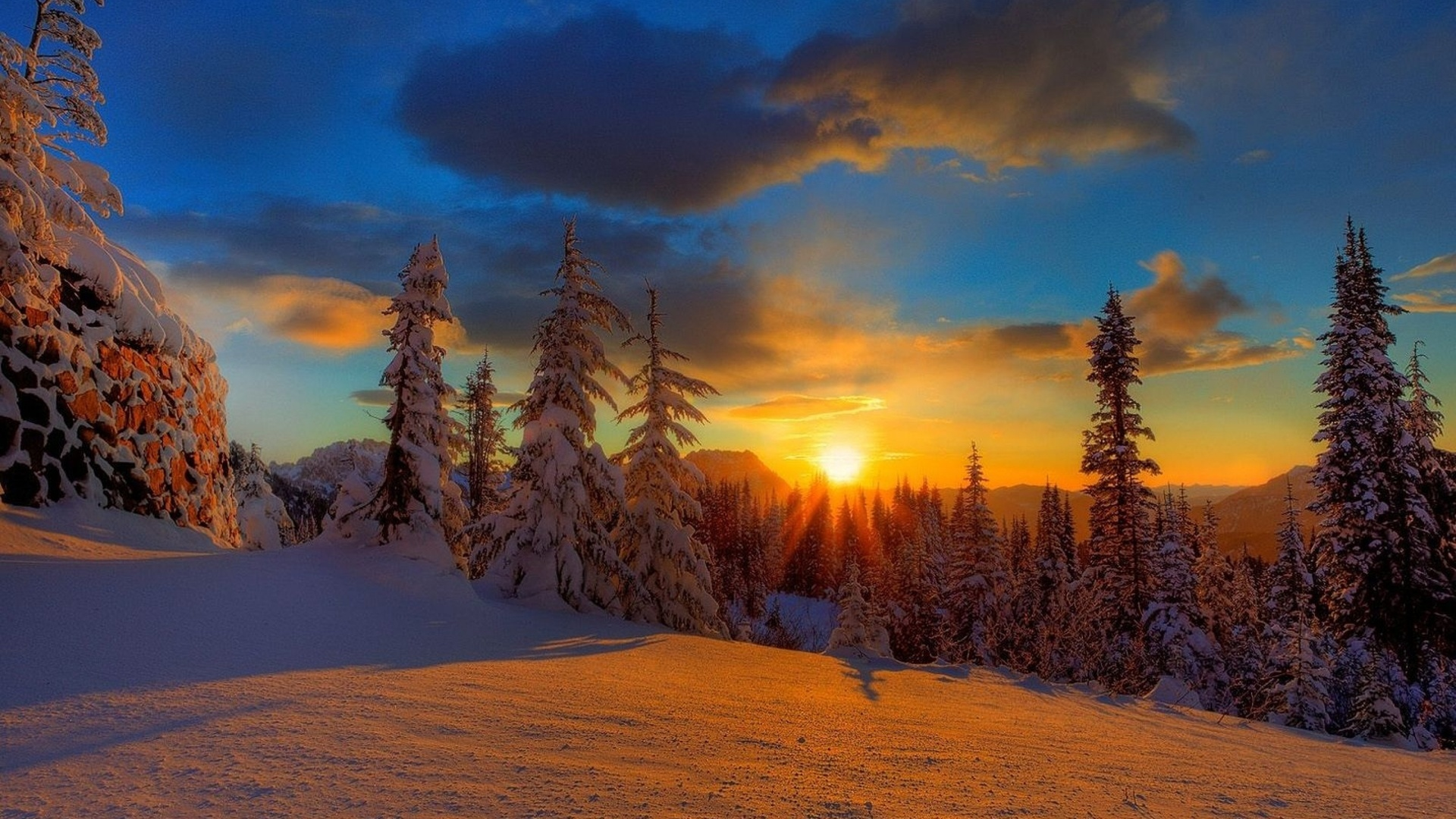 Картинки, природа зима картинки на рабочий стол