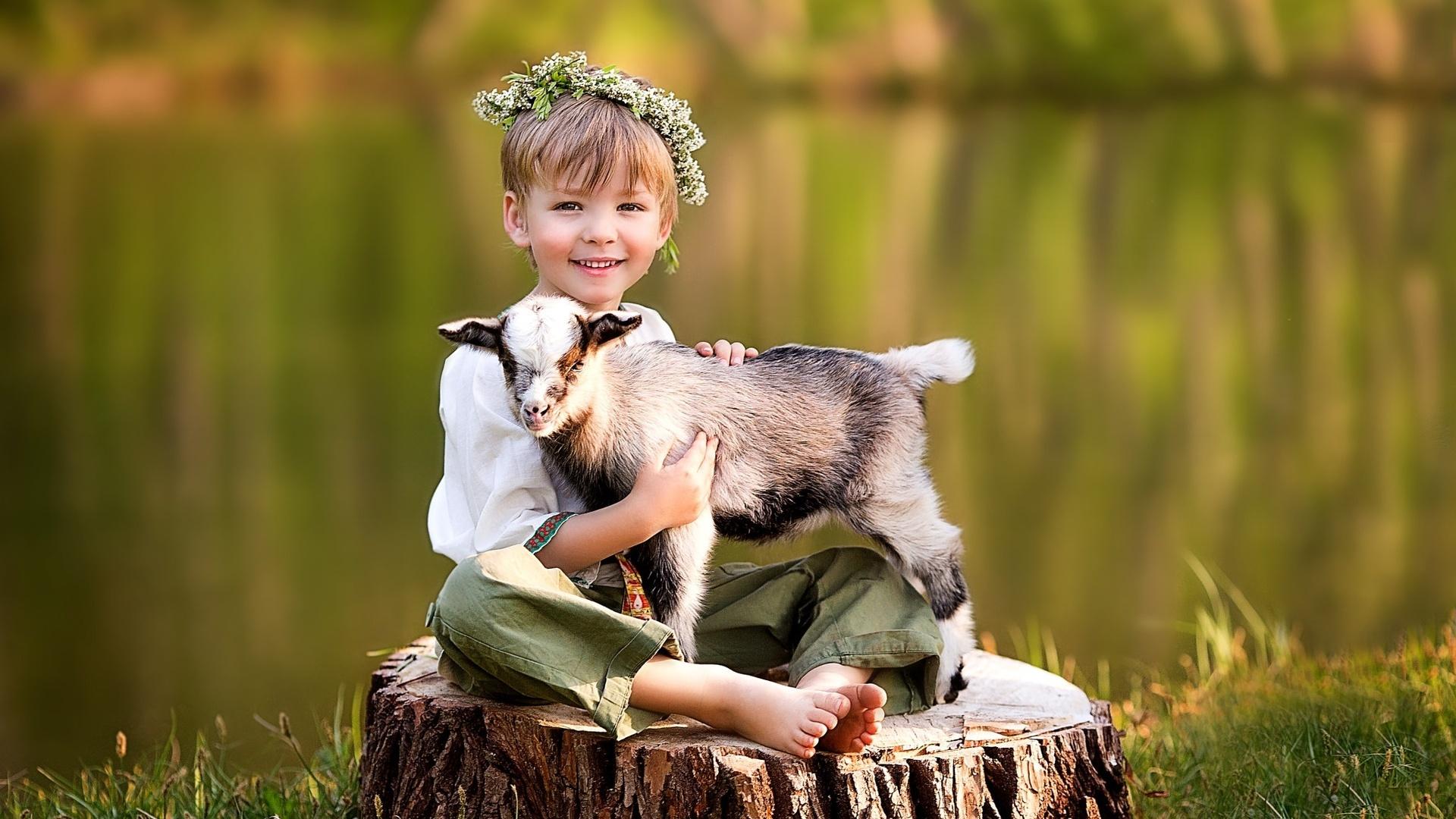 Юбилеем лет, картинки детские с животными на природе