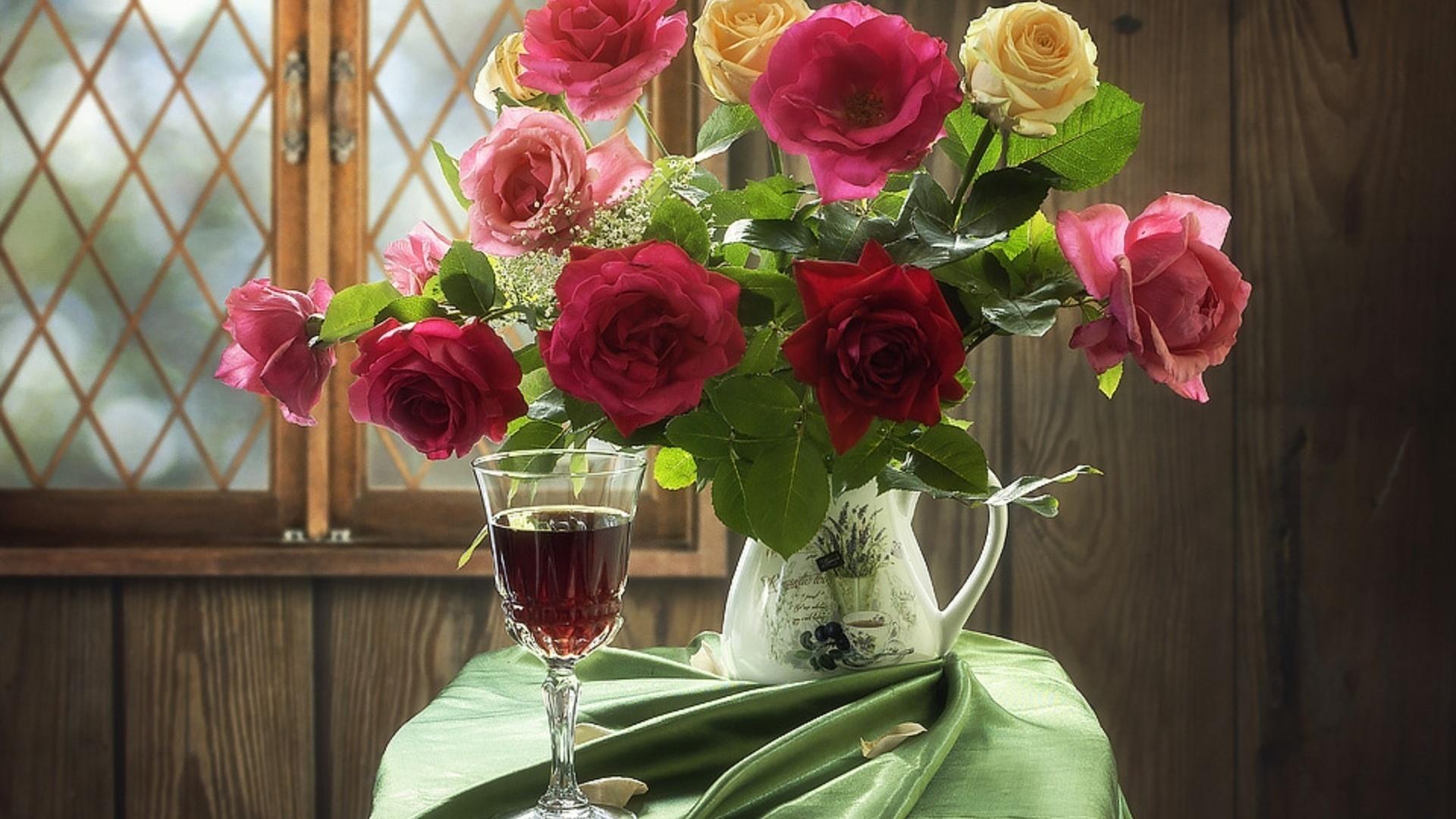 Картинки приятного вечера с розами