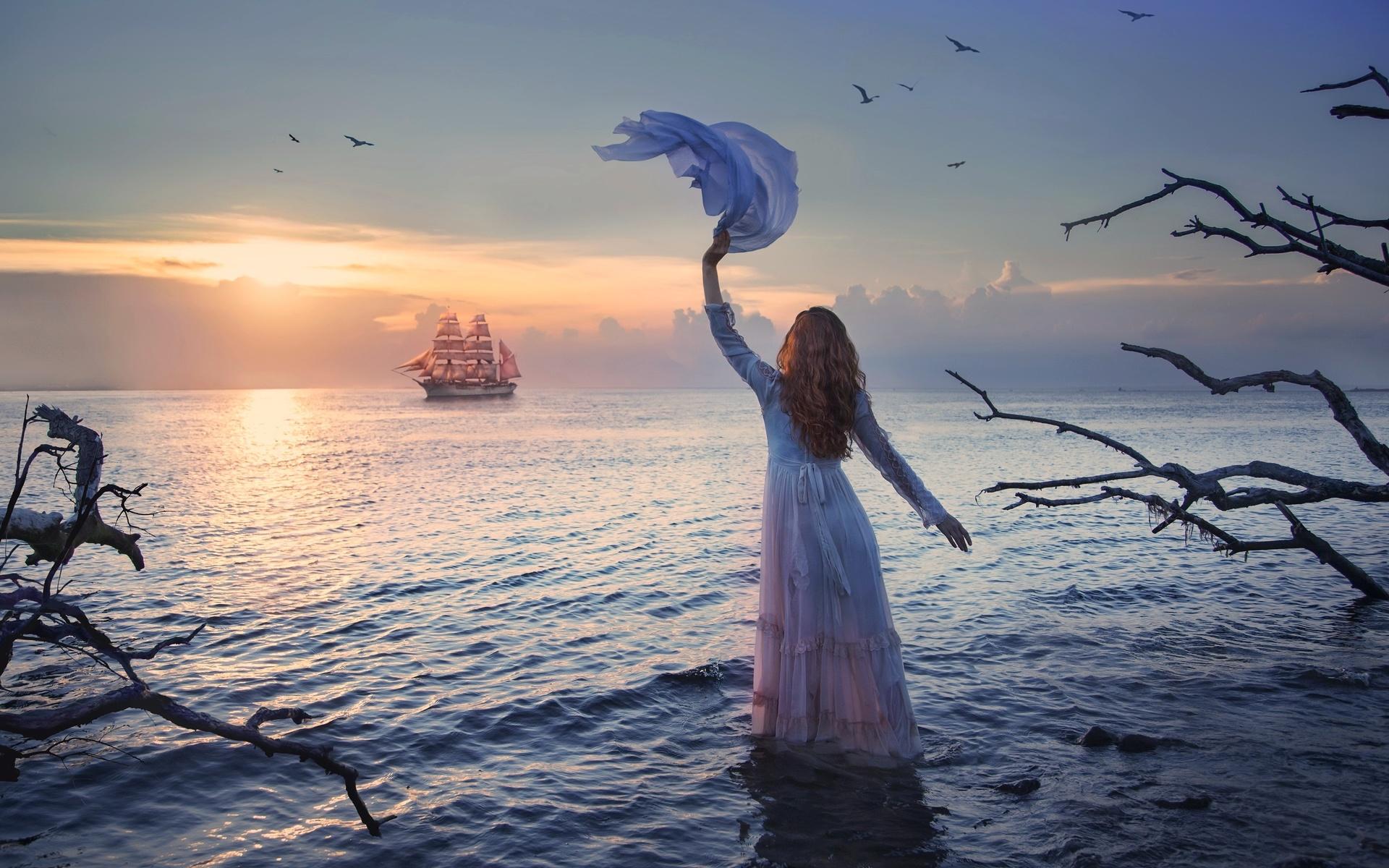 нашего картинка ветер надежды девушка, обладая длинной