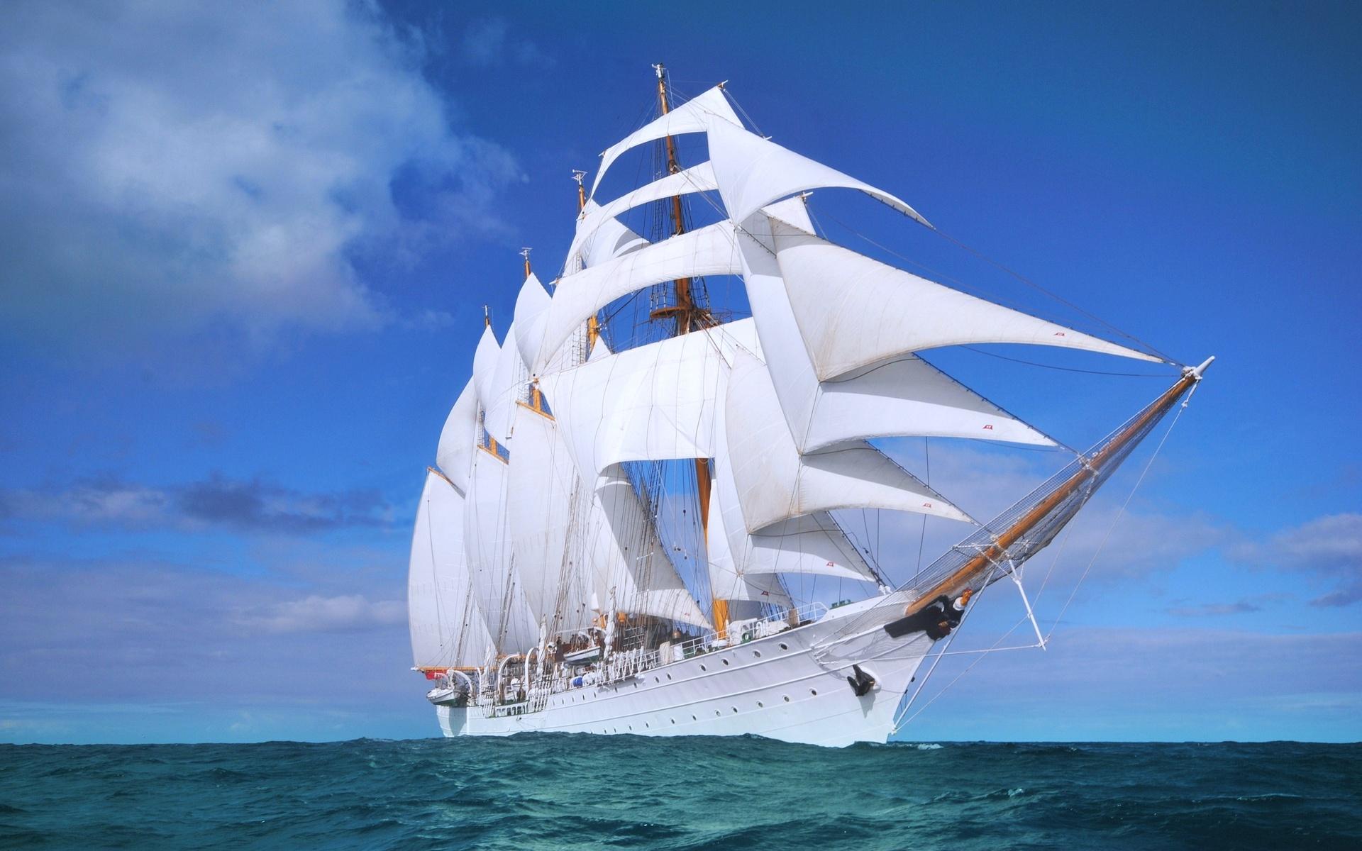 Классные картинки кораблей в море