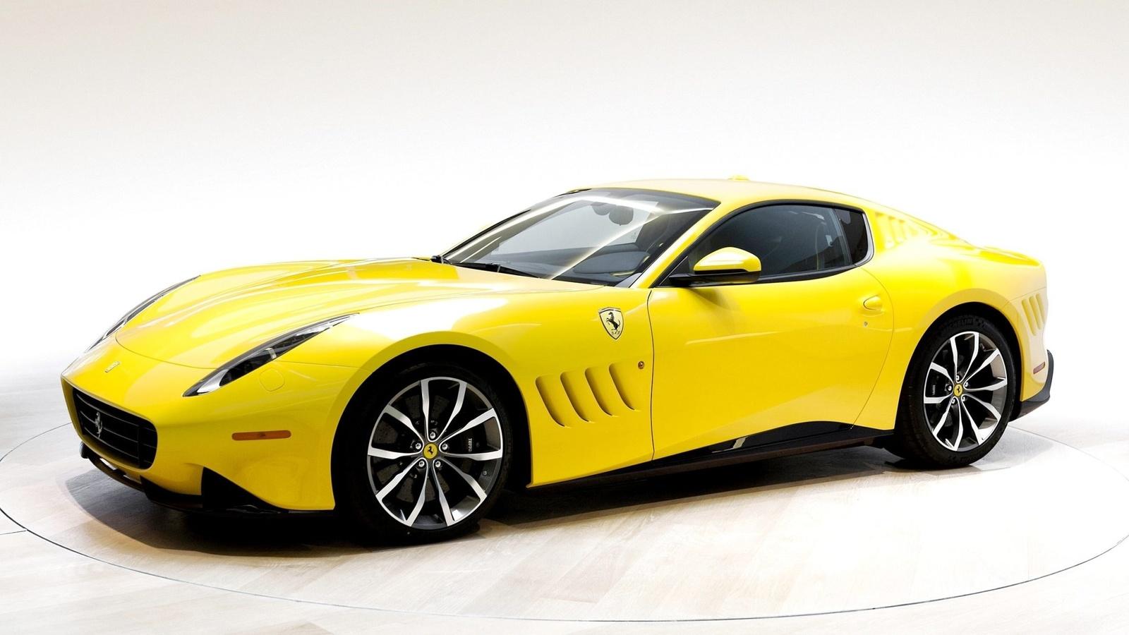 картинки машин желтых