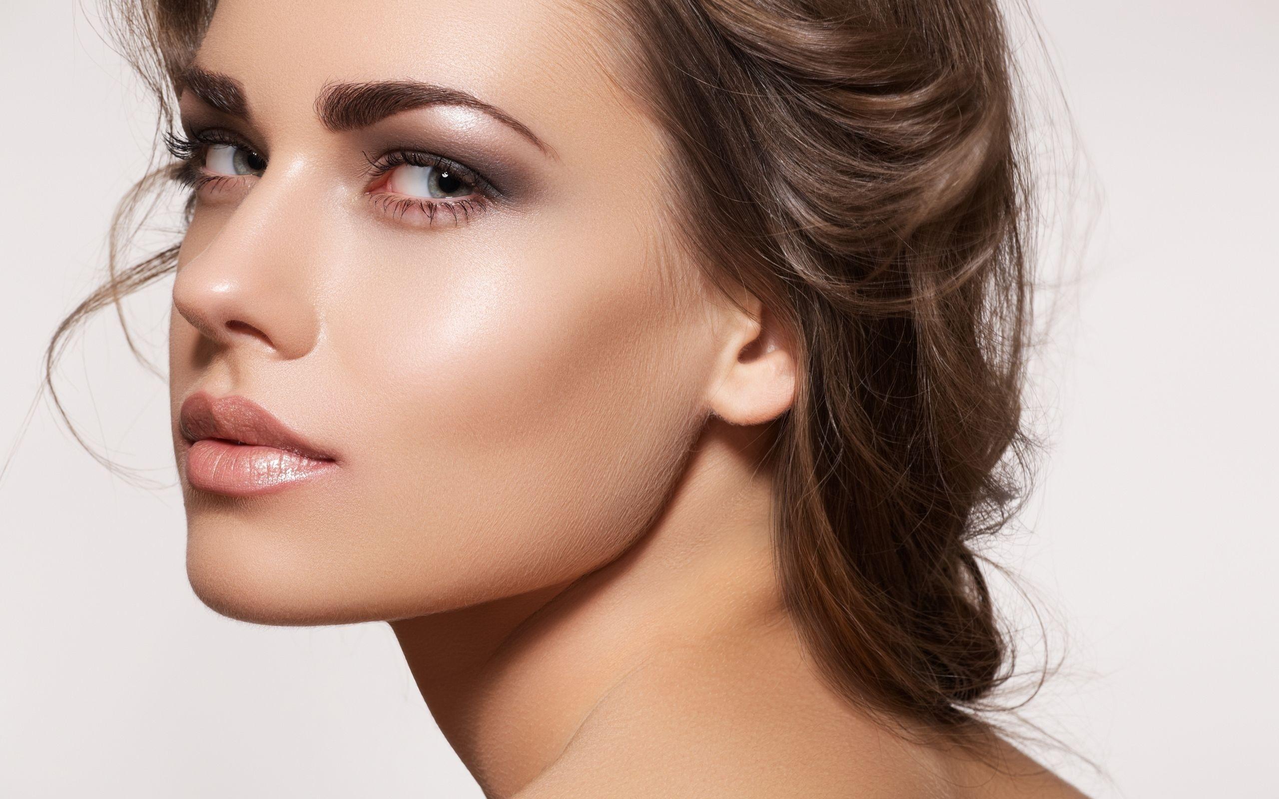 фото женских лиц макияж сытный ароматный