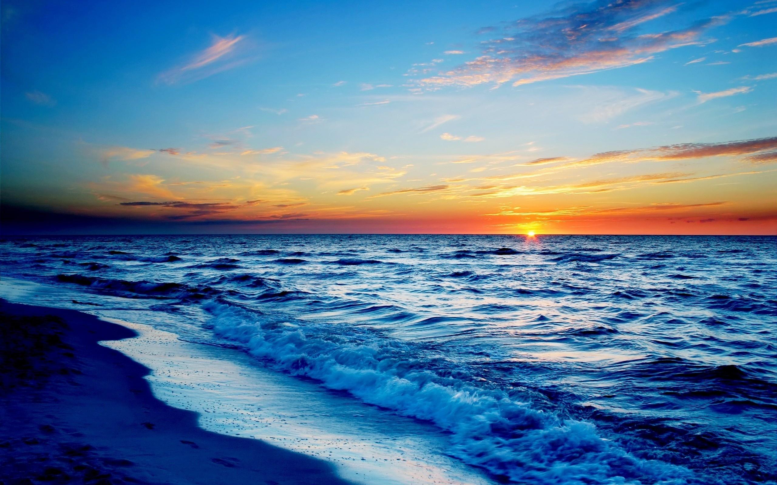 Дню рождения, картинка красота моря