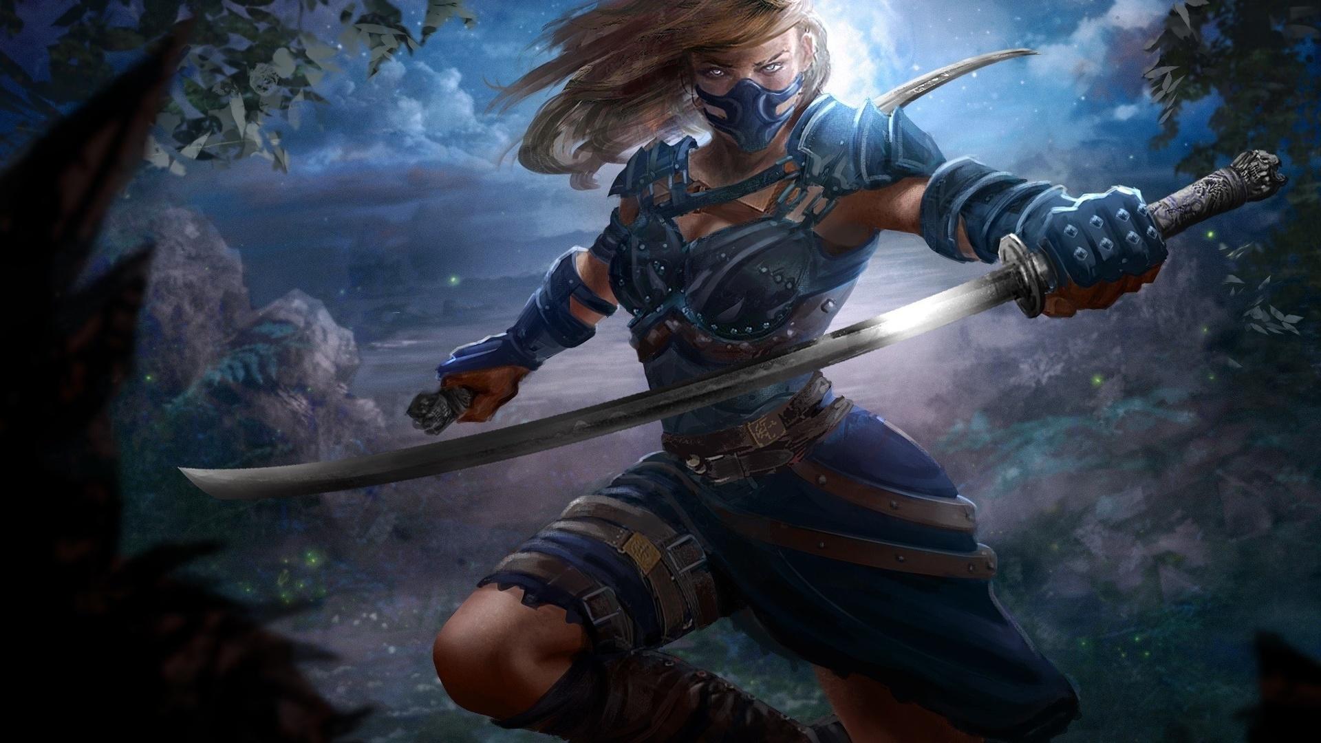 Картинки работы с мечами