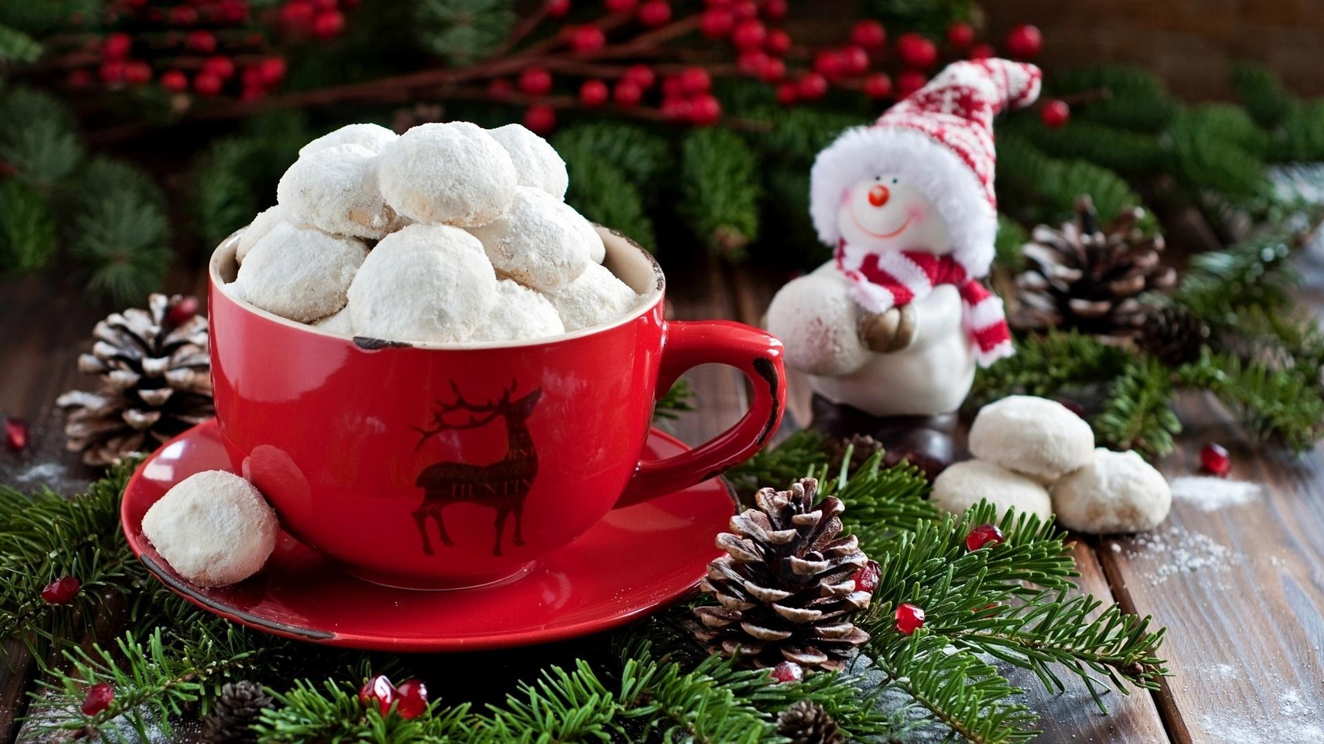 Картинки кофе новогоднее настроение
