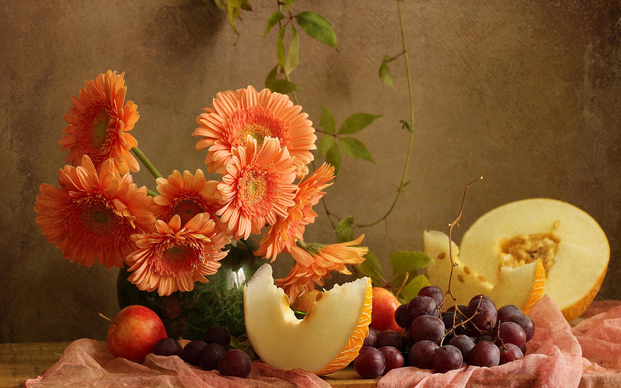 заслуга картинки с фруктами и цветами фото приготовить ароматное