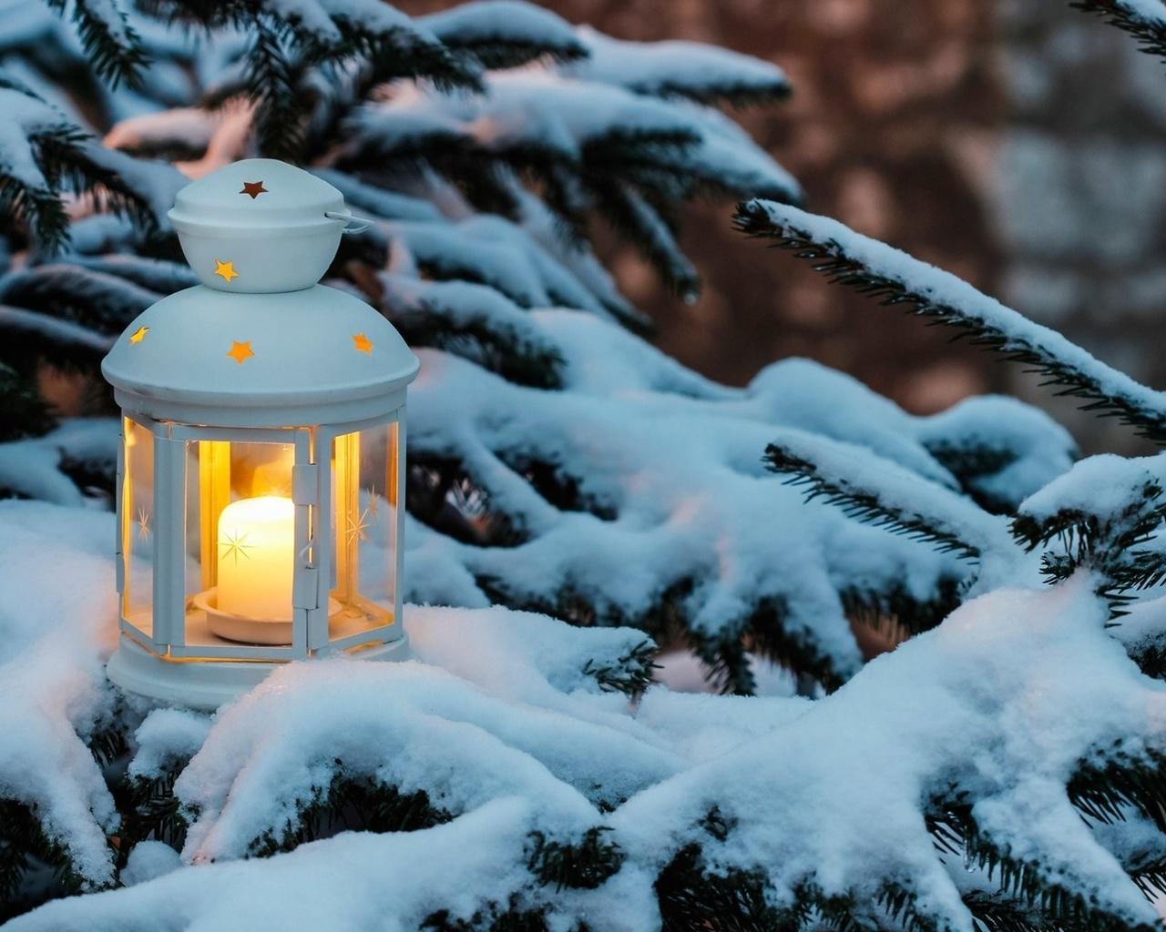 снег на фонарях картинки уже отправили пожелания