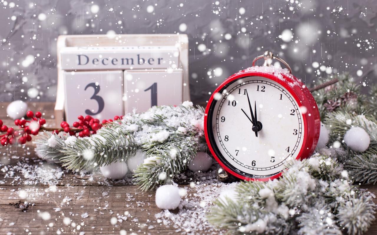 Картинки новый год с часами, мышки картинки открытка