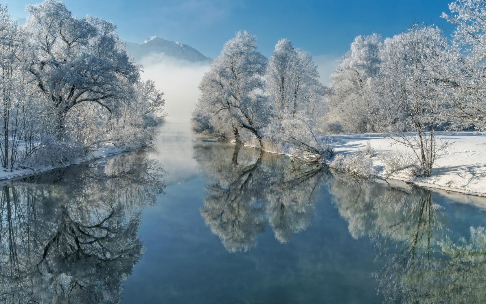 Красивые зимние картинки на экран свойствам бензоила