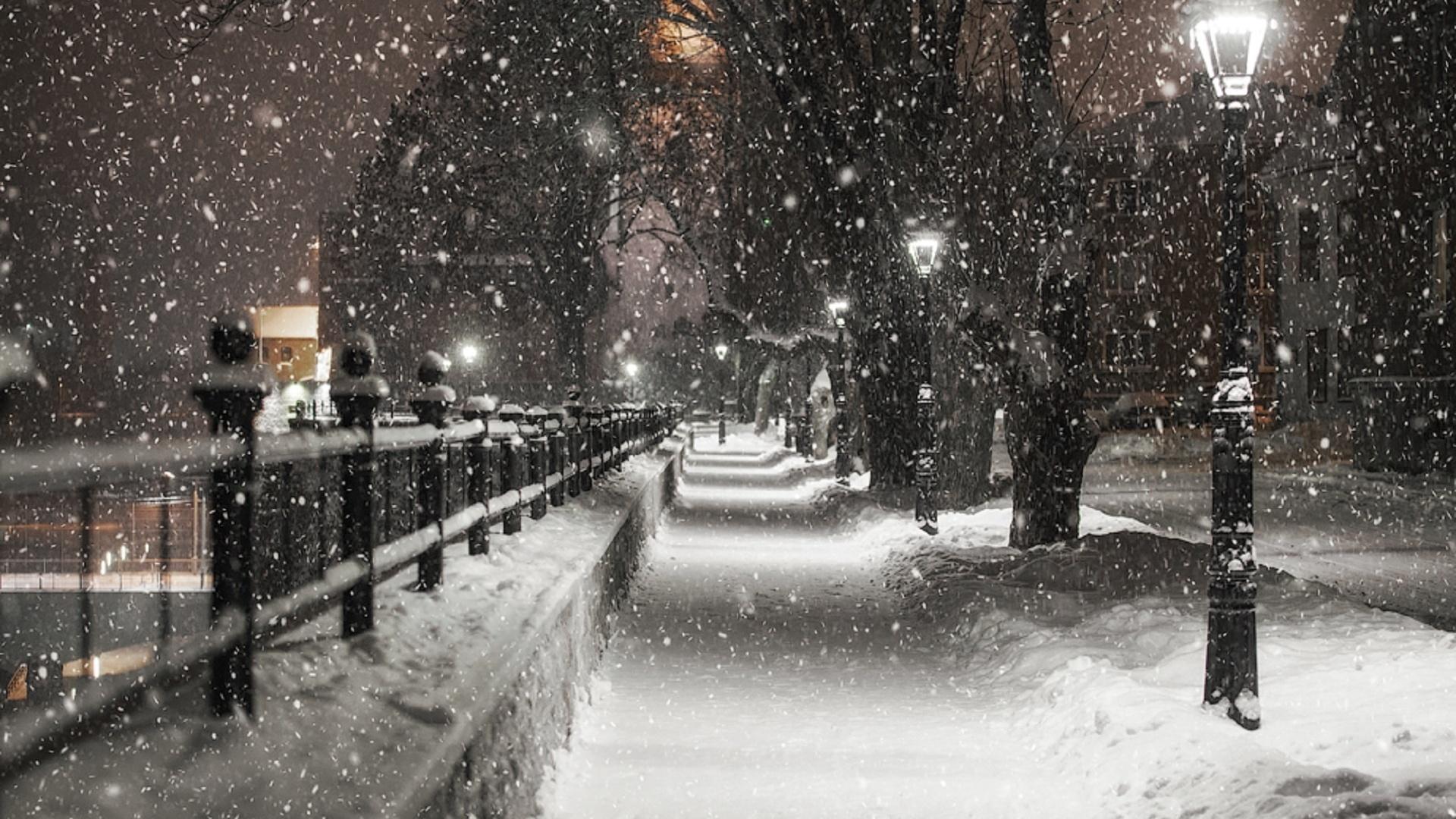 Красивые снегопады картинки