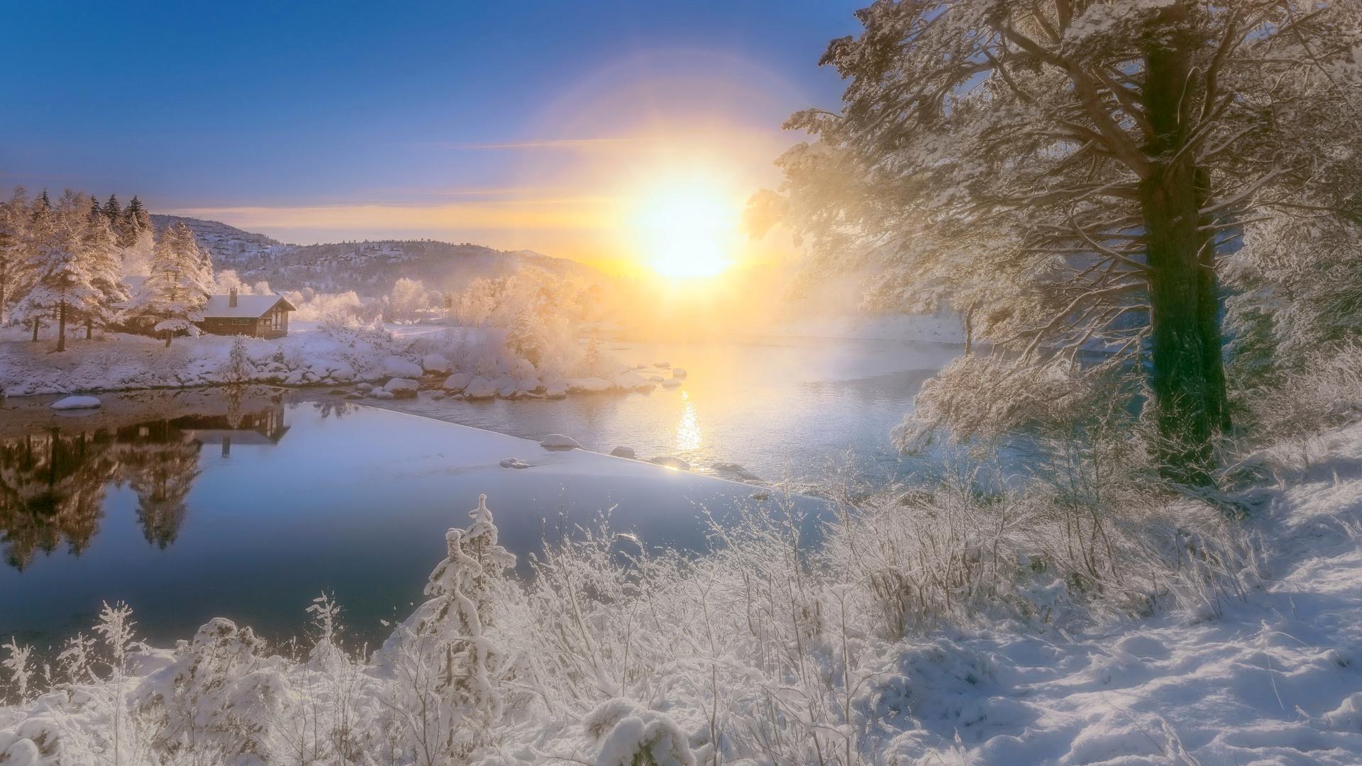картинка ч добрым утром с зимними пейзажами лишай под мышками