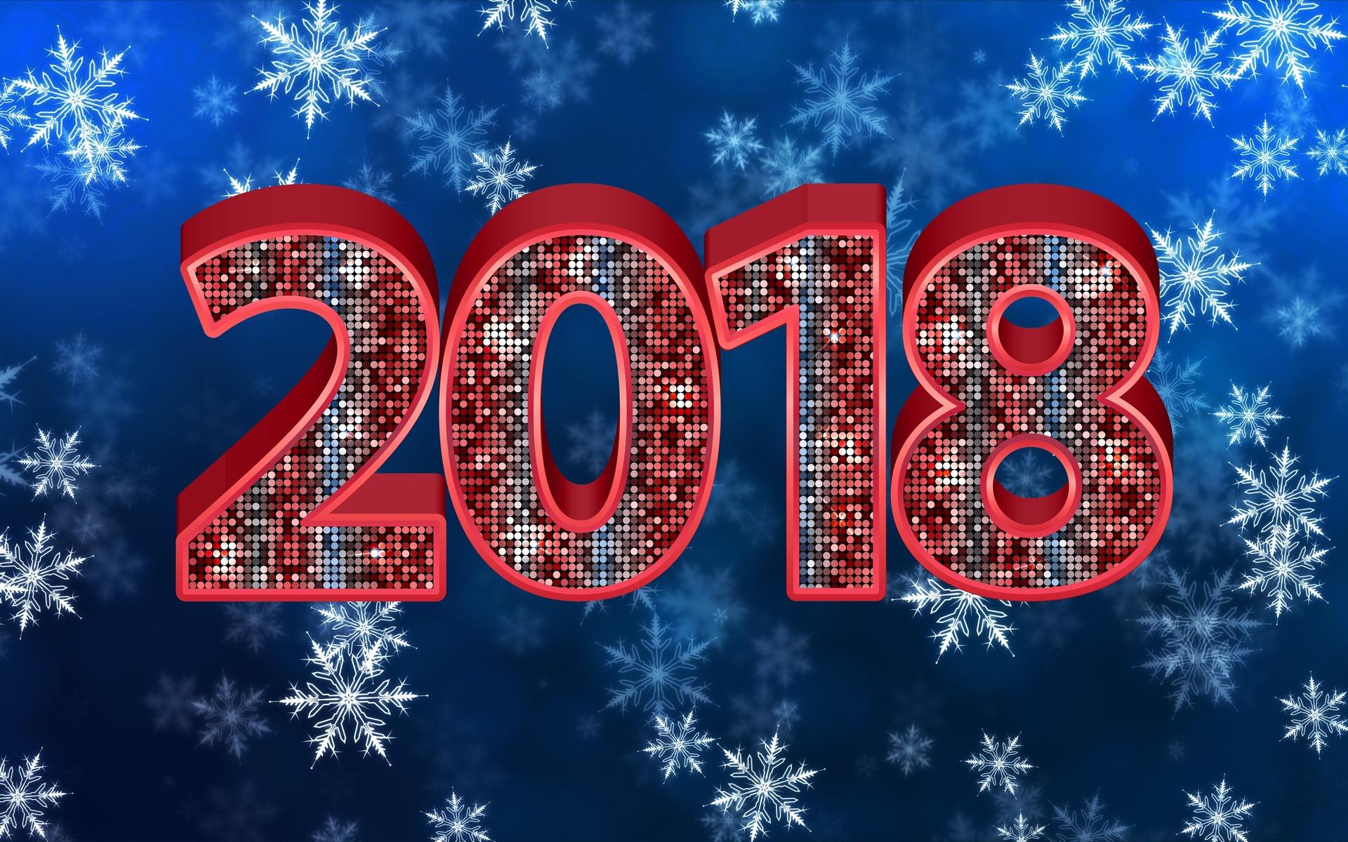 Картинки символа нового года 2018 на рабочий стол, открытки