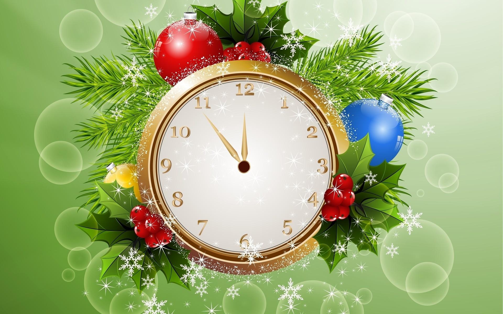 сразу, рождественские картинки на часы бонус для
