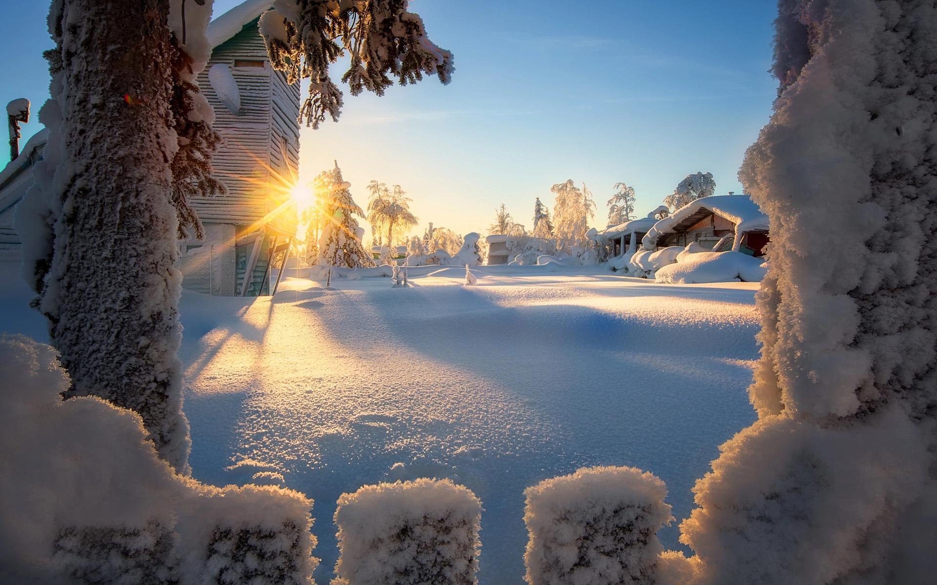 красивые зимние картинки просто так