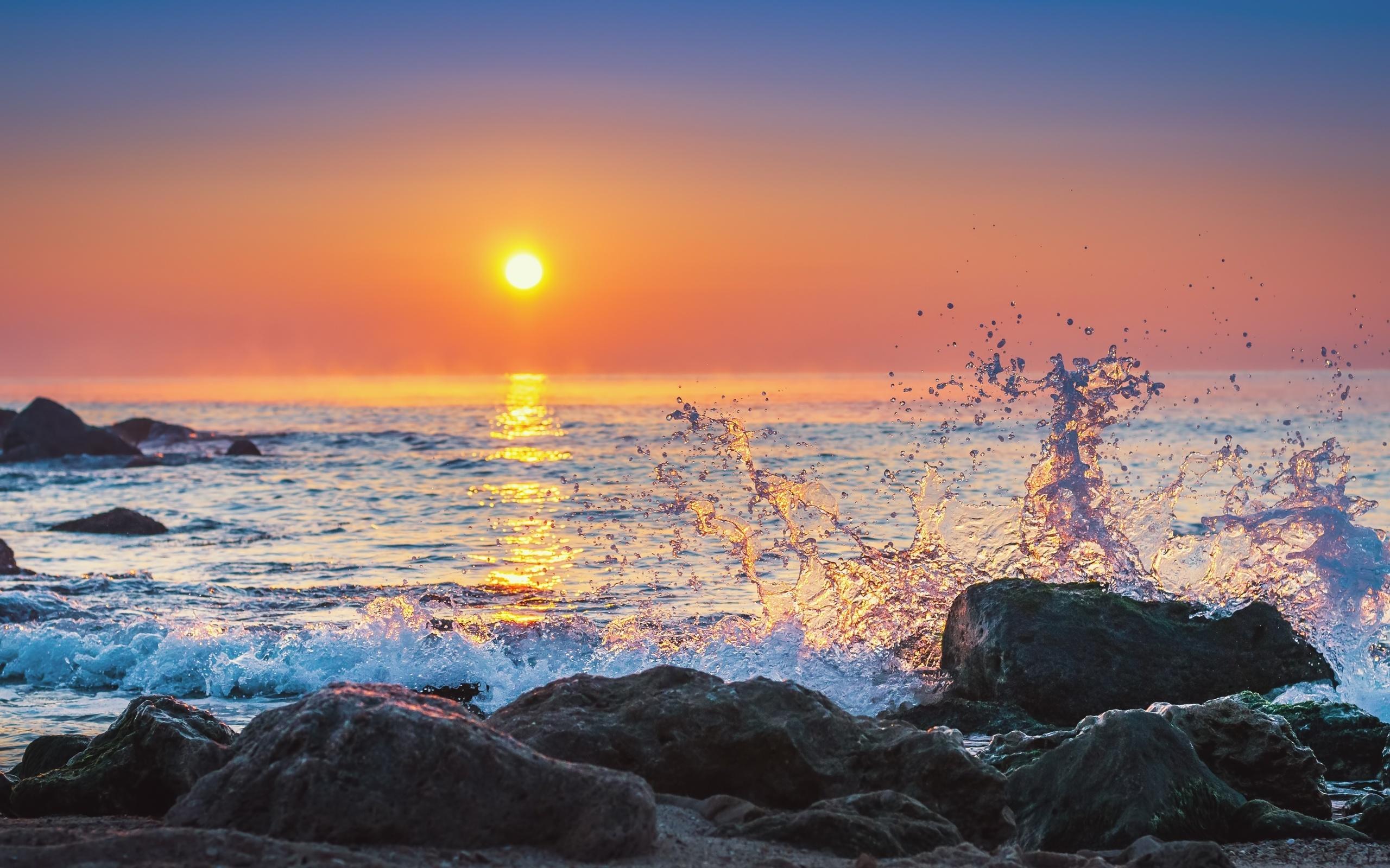 барского рассвет на берегу моря фото включив