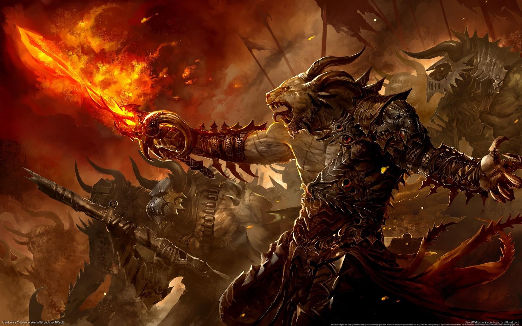 Демоны битвы картинки