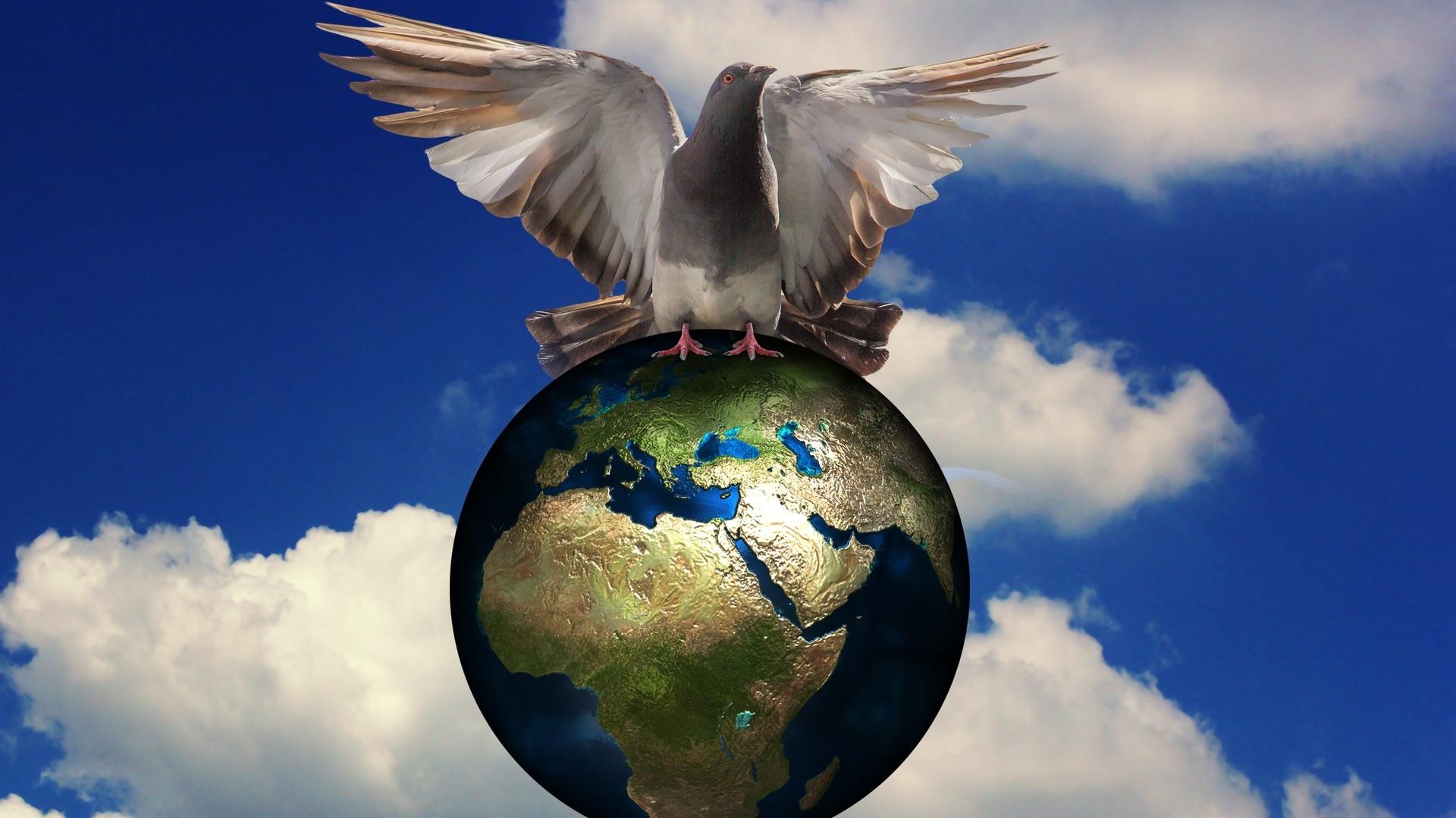 мир во всем мире картинка люди смотрят