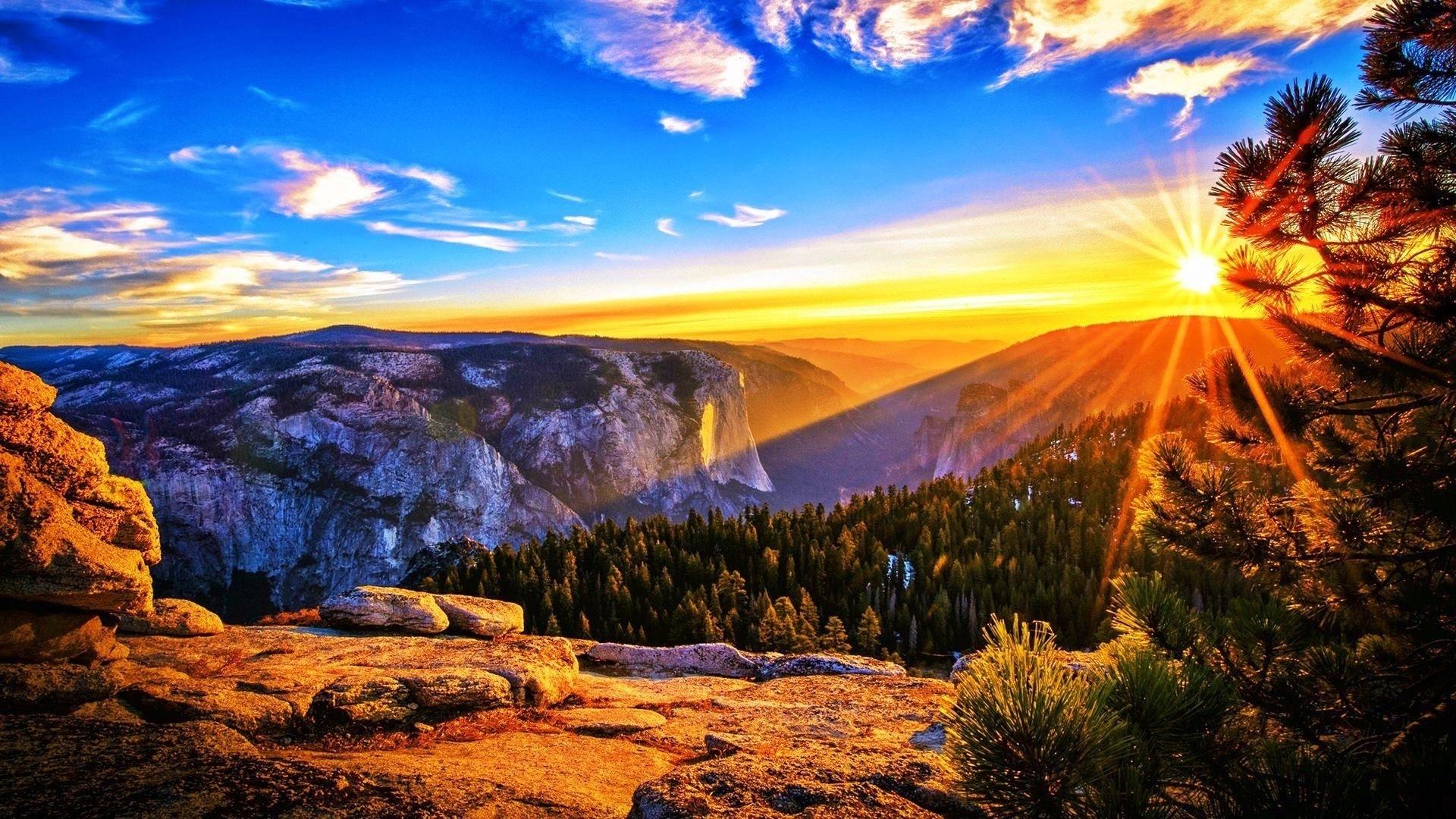 Картинки восход солнца в горах