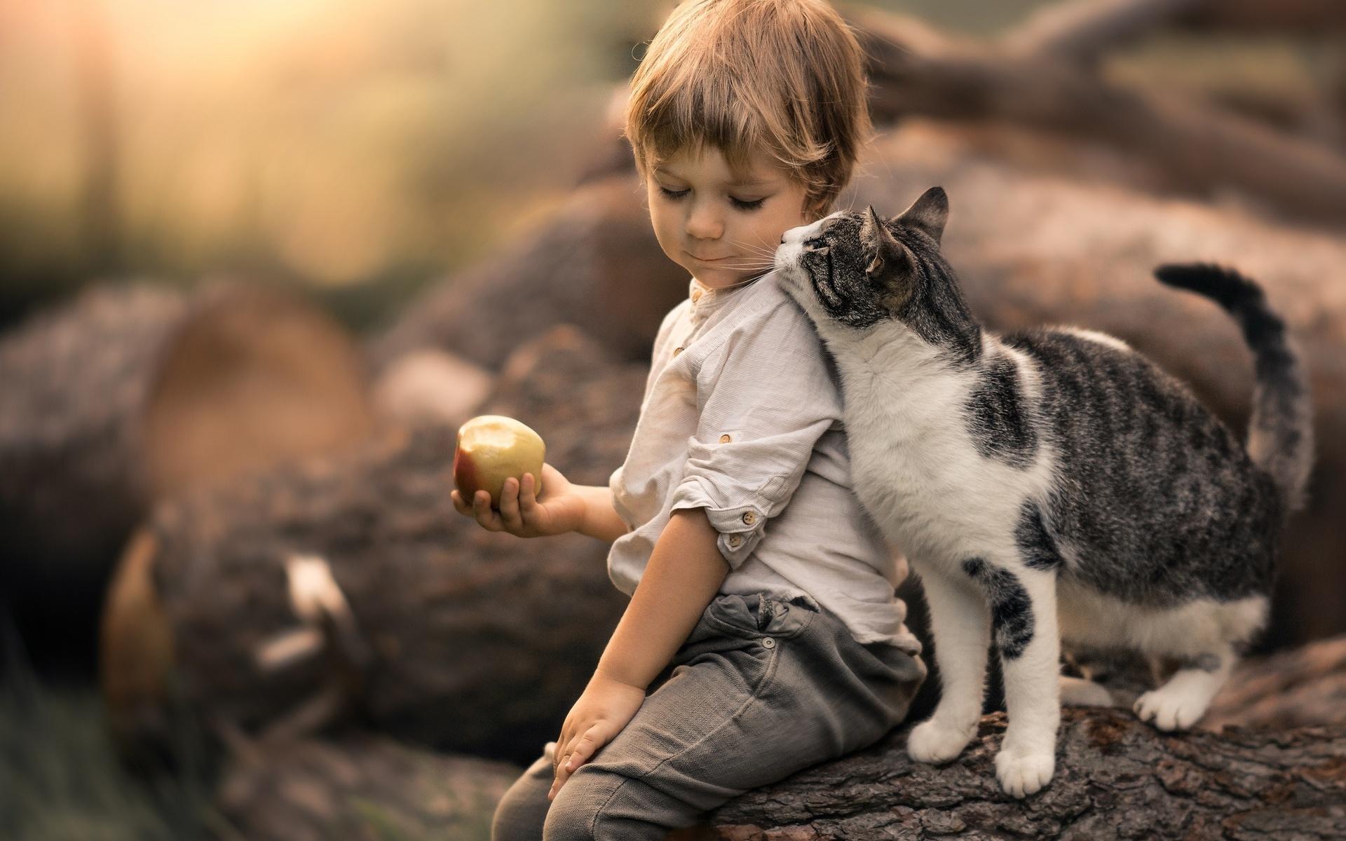 Картинки с людьми и животными
