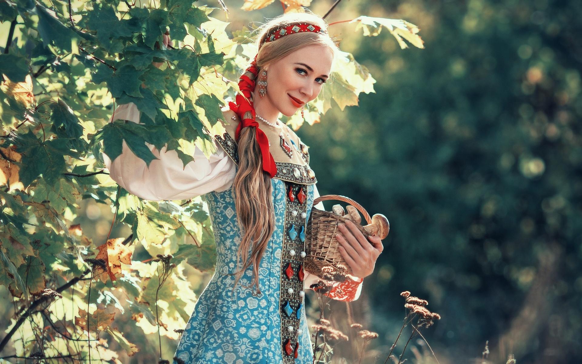 Картинки девушки руси