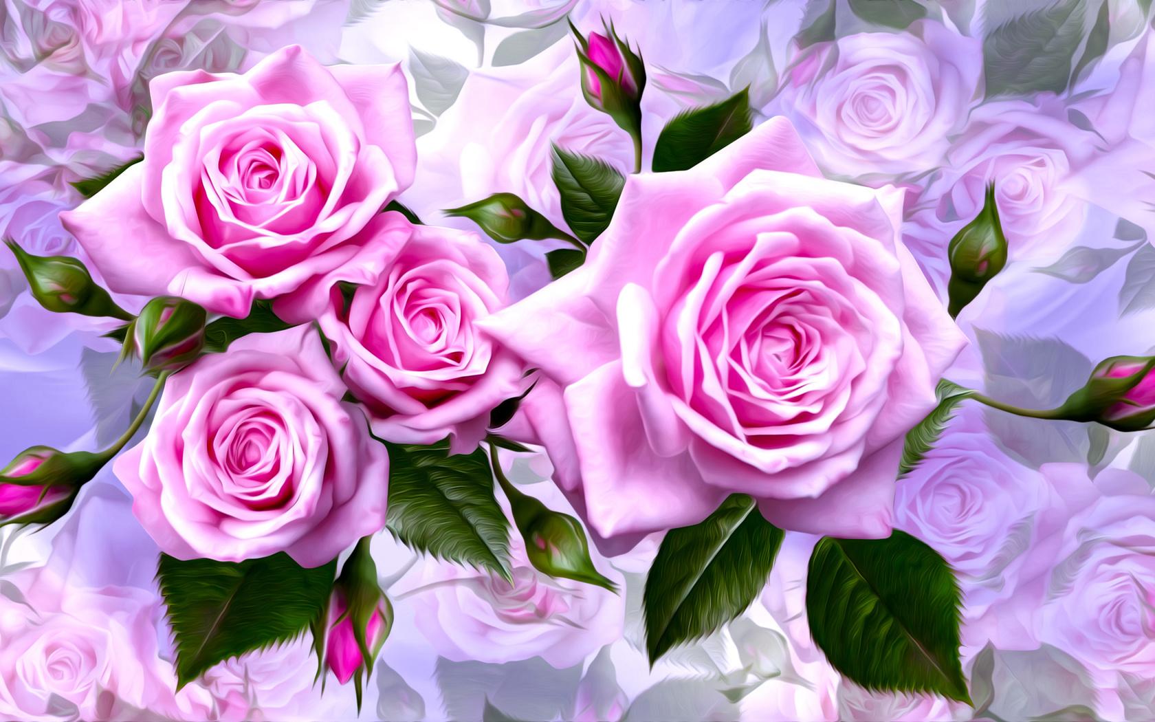 картинки на три экрана розы описанную