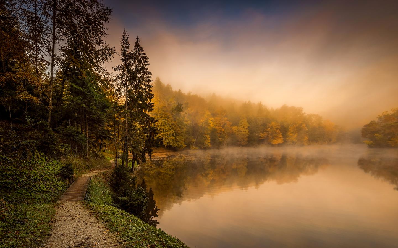 Картинки красивые утренние пейзажи