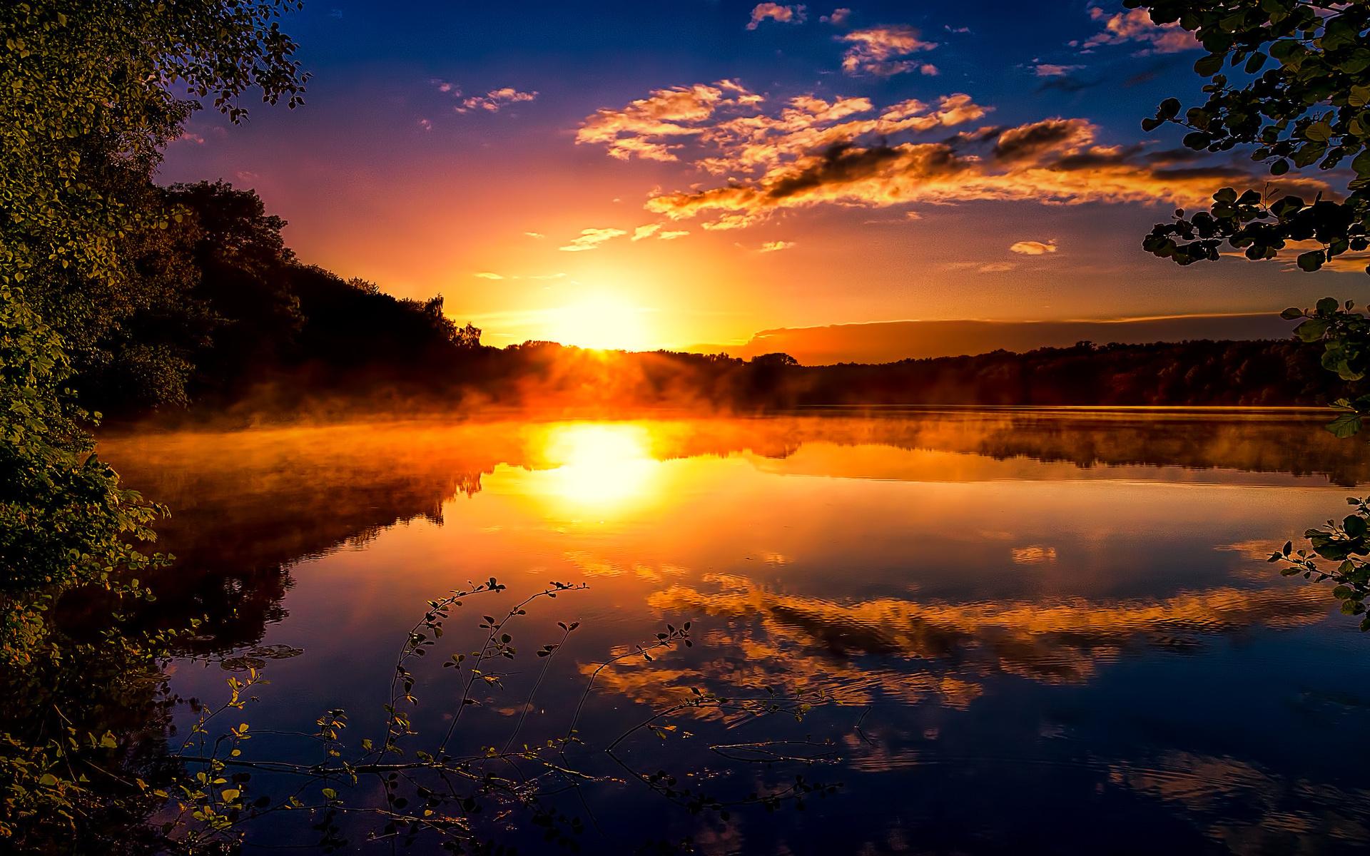 Природа картинки восход солнца