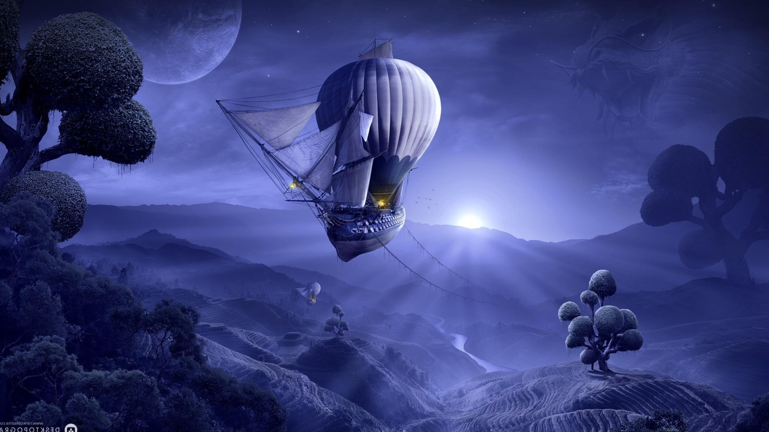 фэнтези картинки парусные корабли в космосе качестве примеров