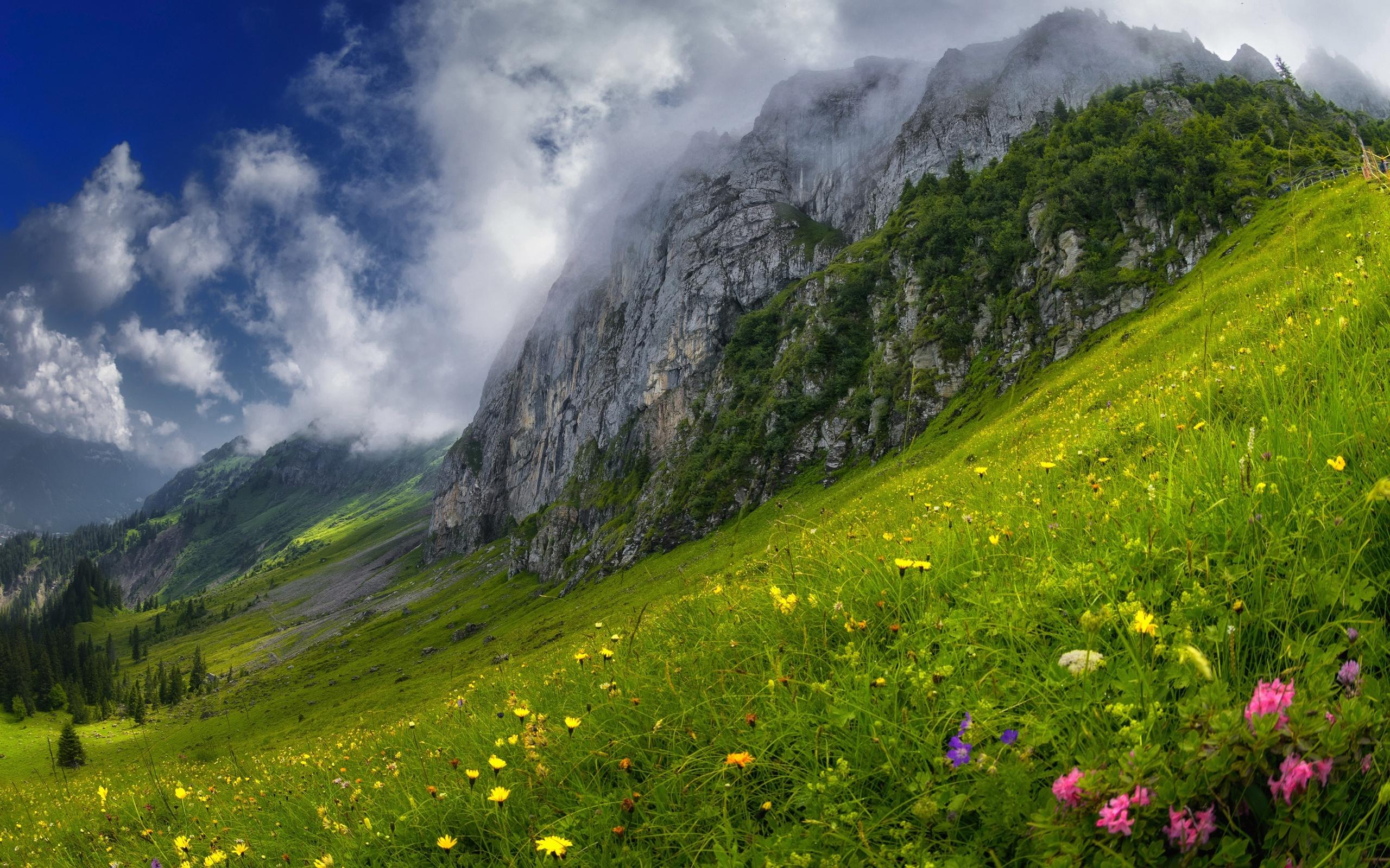 Картинки склонов гор