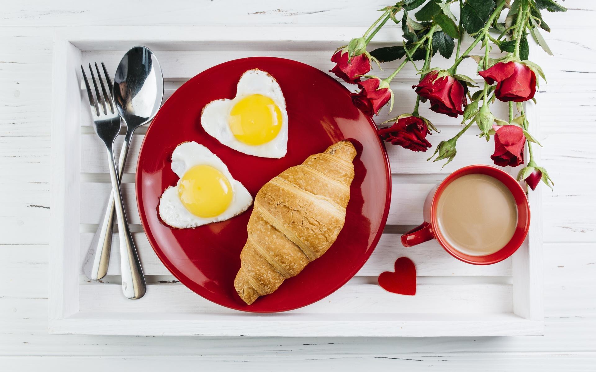 Яркий завтрак картинки