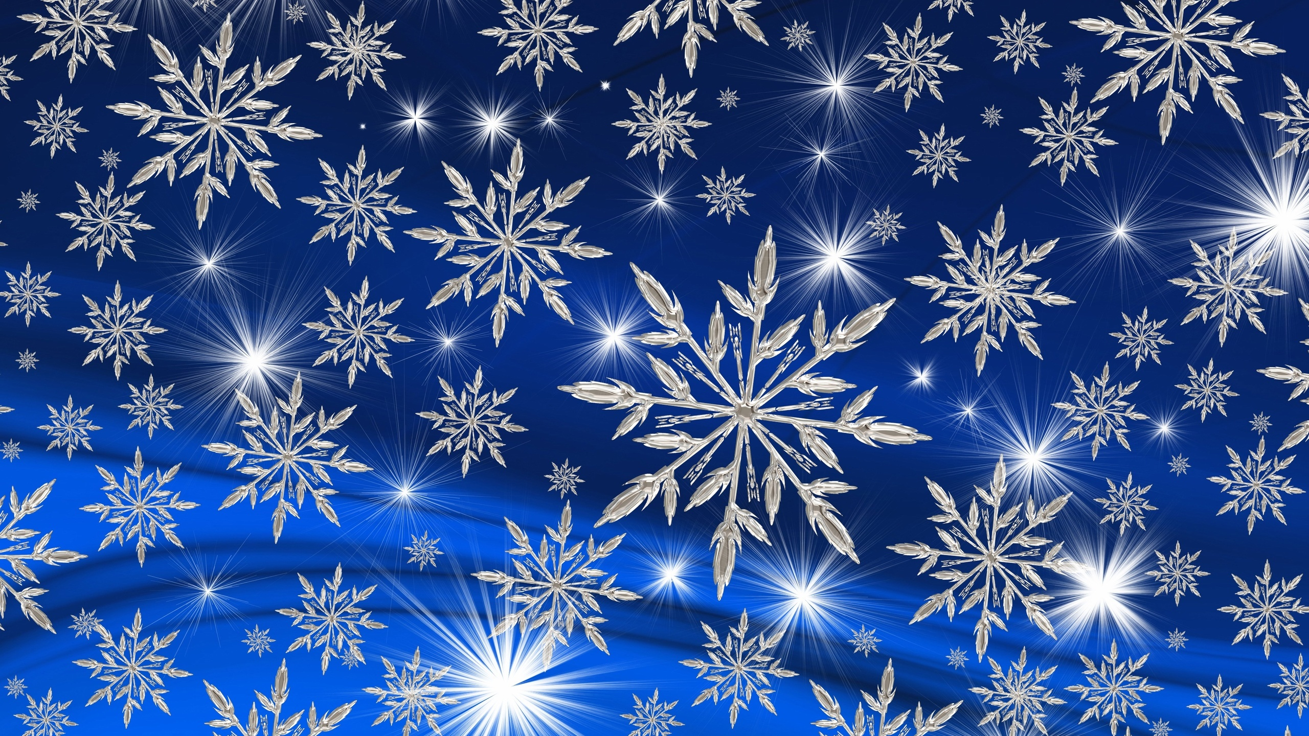 Картинка снежинки падают с неба