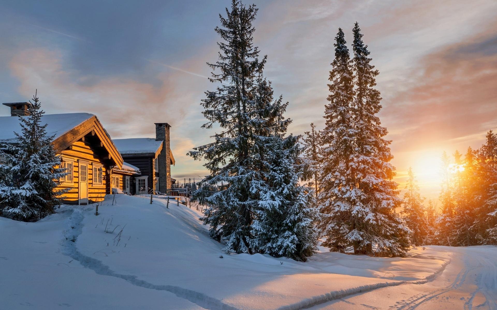 фэнтези стало зимние пейзажи с домами картинки и фото этом стоит забывать