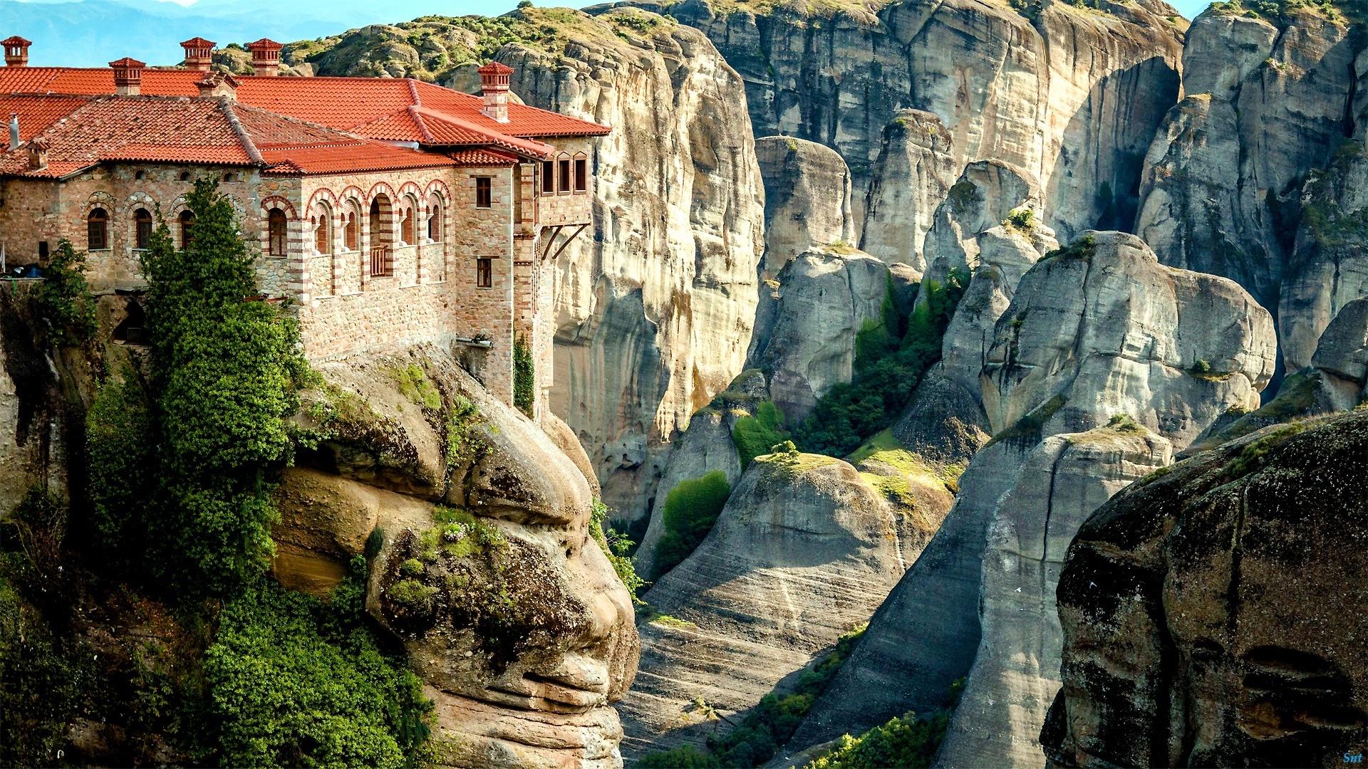 картинки греческий монастырь именно