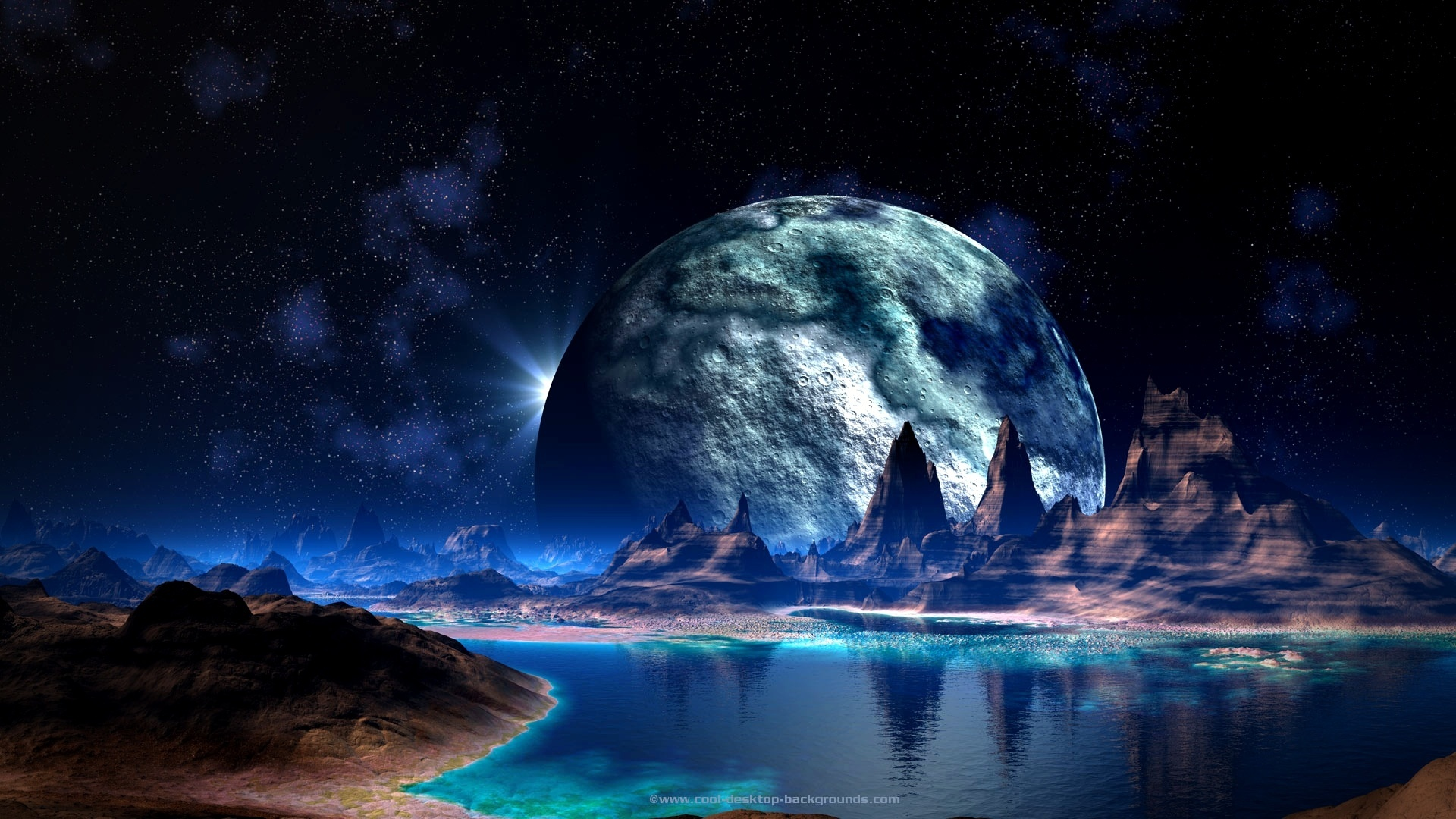 Космические пейзажи картинки на телефон