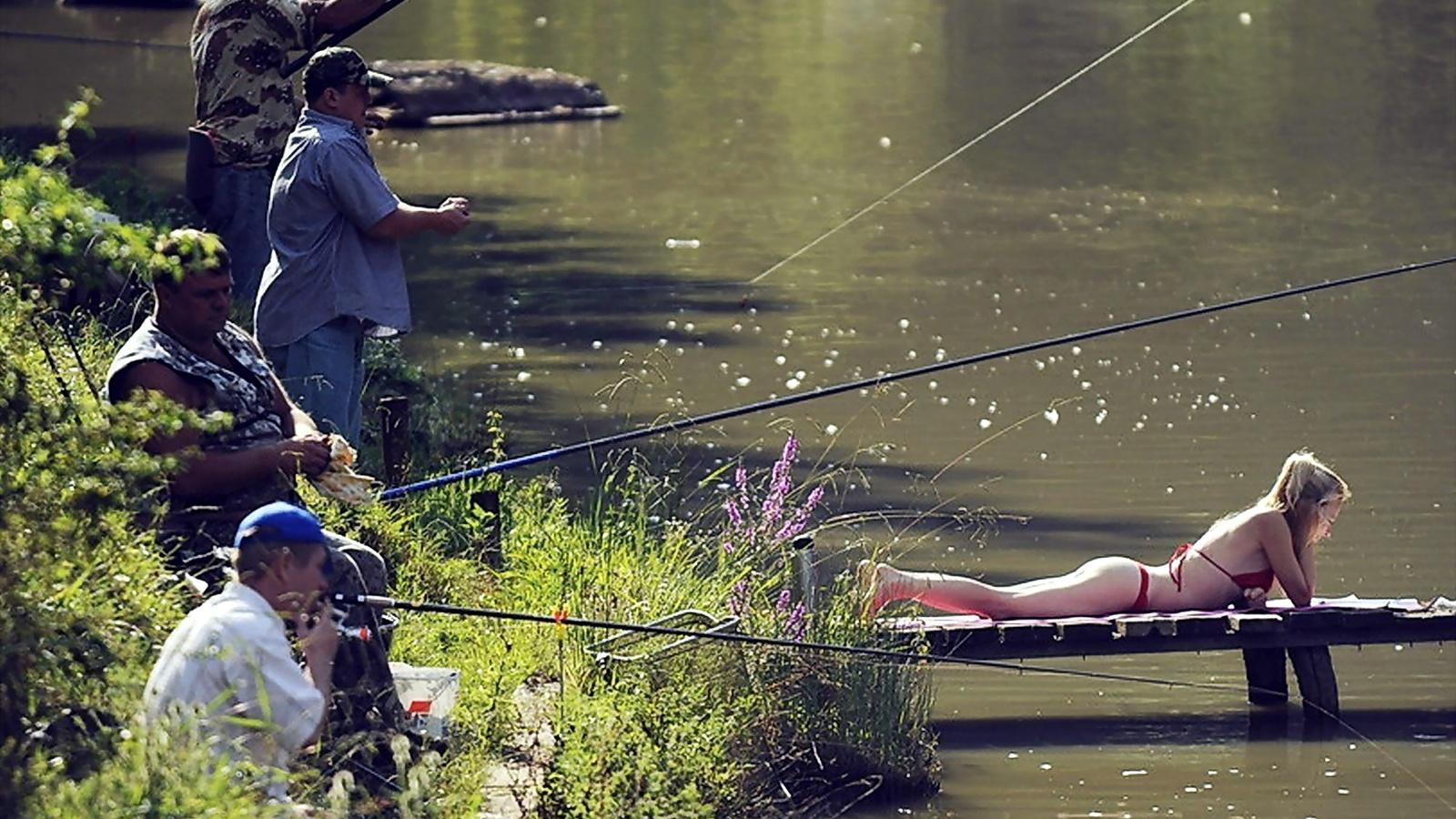Прикольные картинки хочется на рыбалку