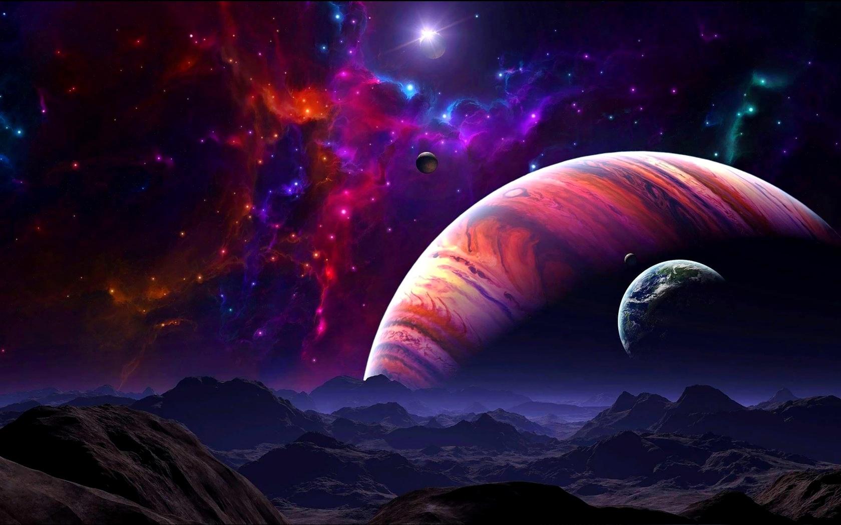 Картинки связанные с космосом, открытки день