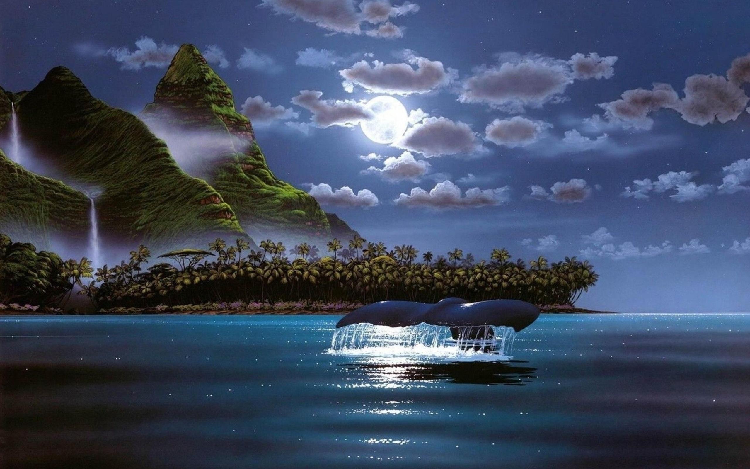 фэнтези картинки природа море направленность