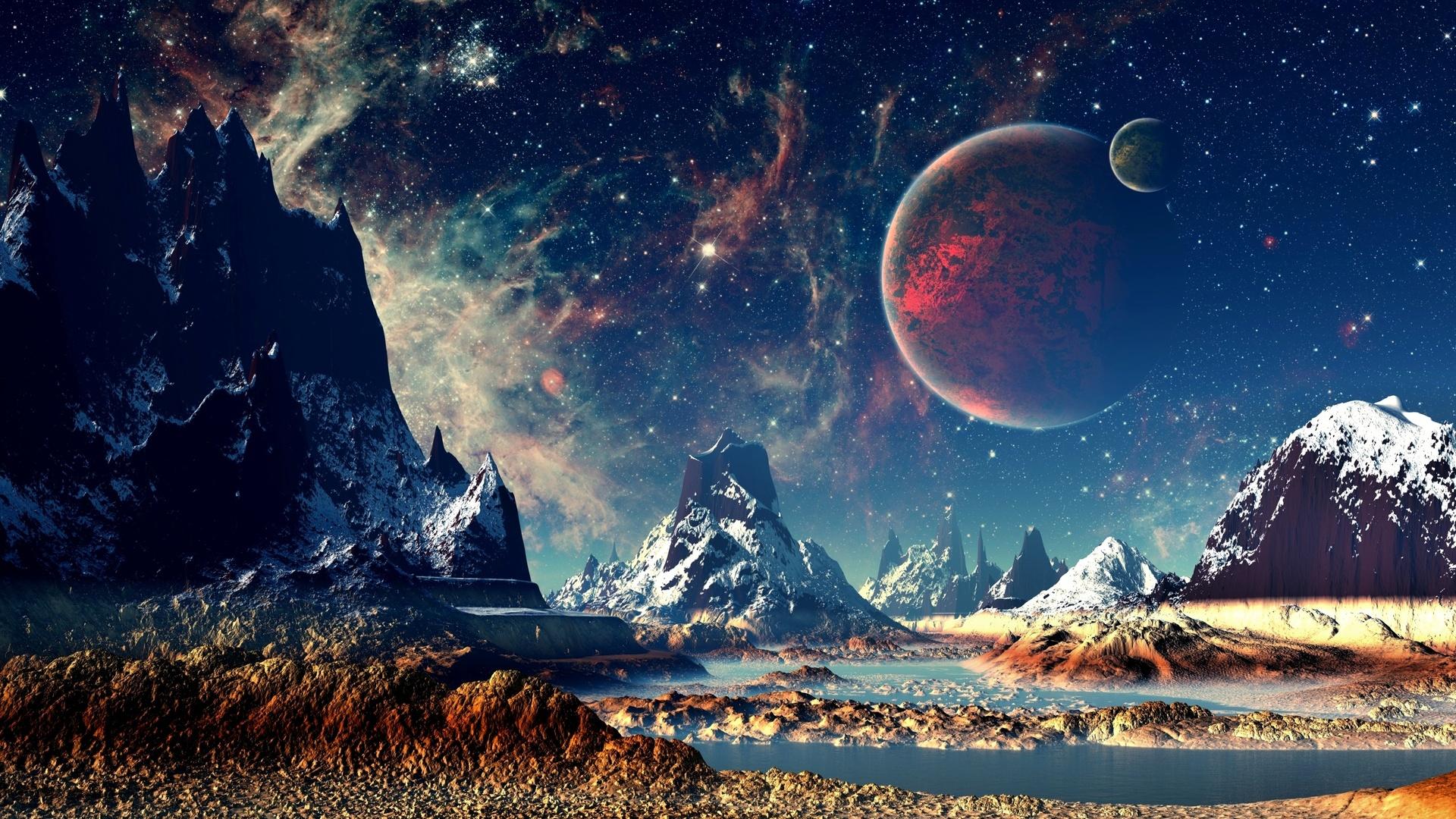 Космическая картинка на обои