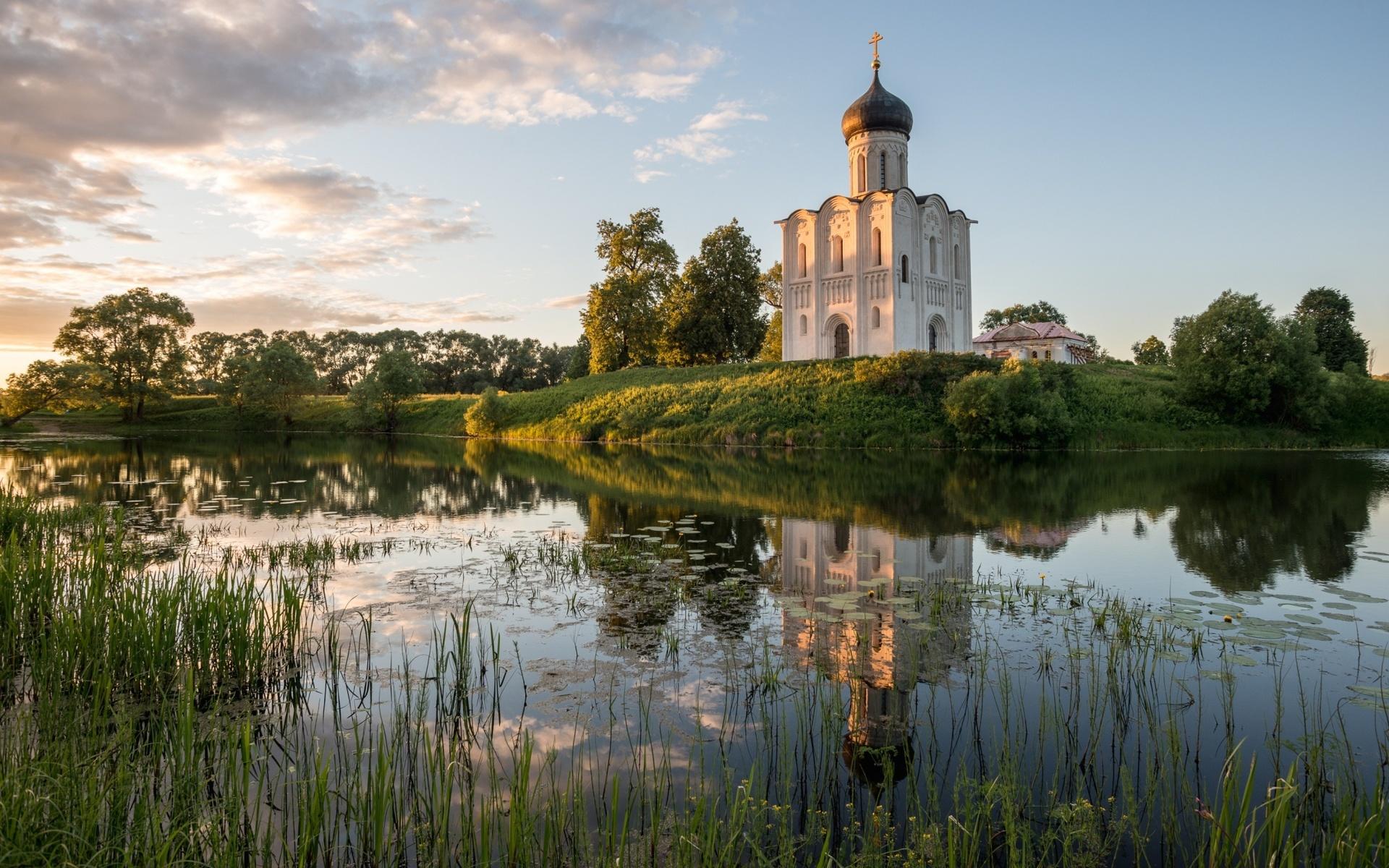Церквушка и природа картинки