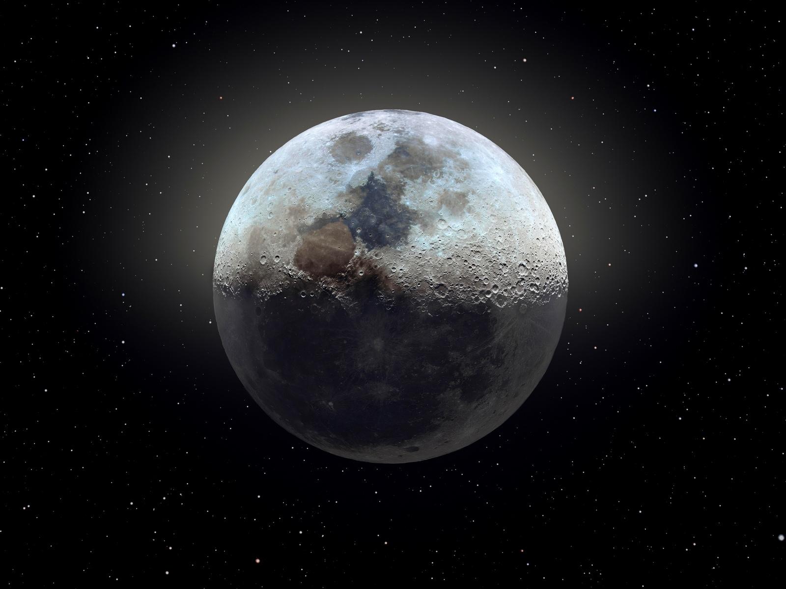 Картинки в космос луна