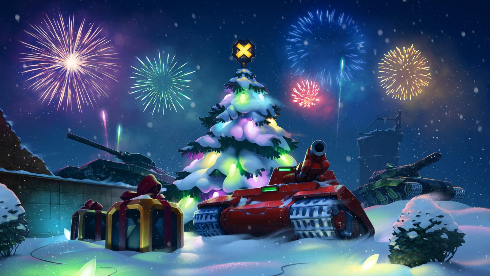 Картинки новогодних онлайн игр