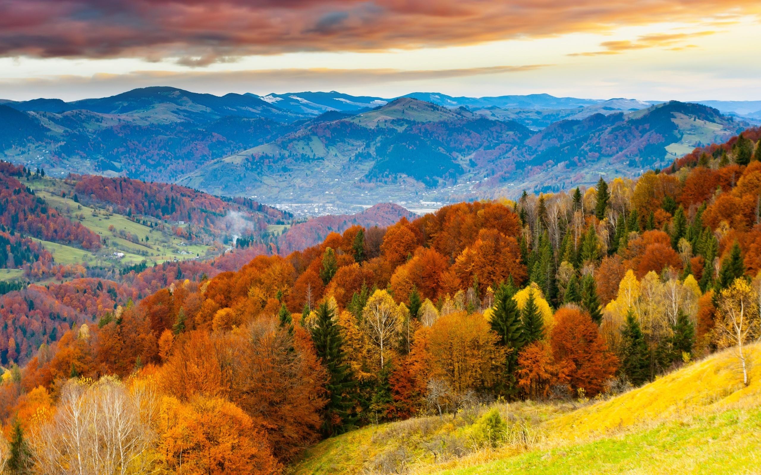 картинки с осенними пейзажами можете выбрать