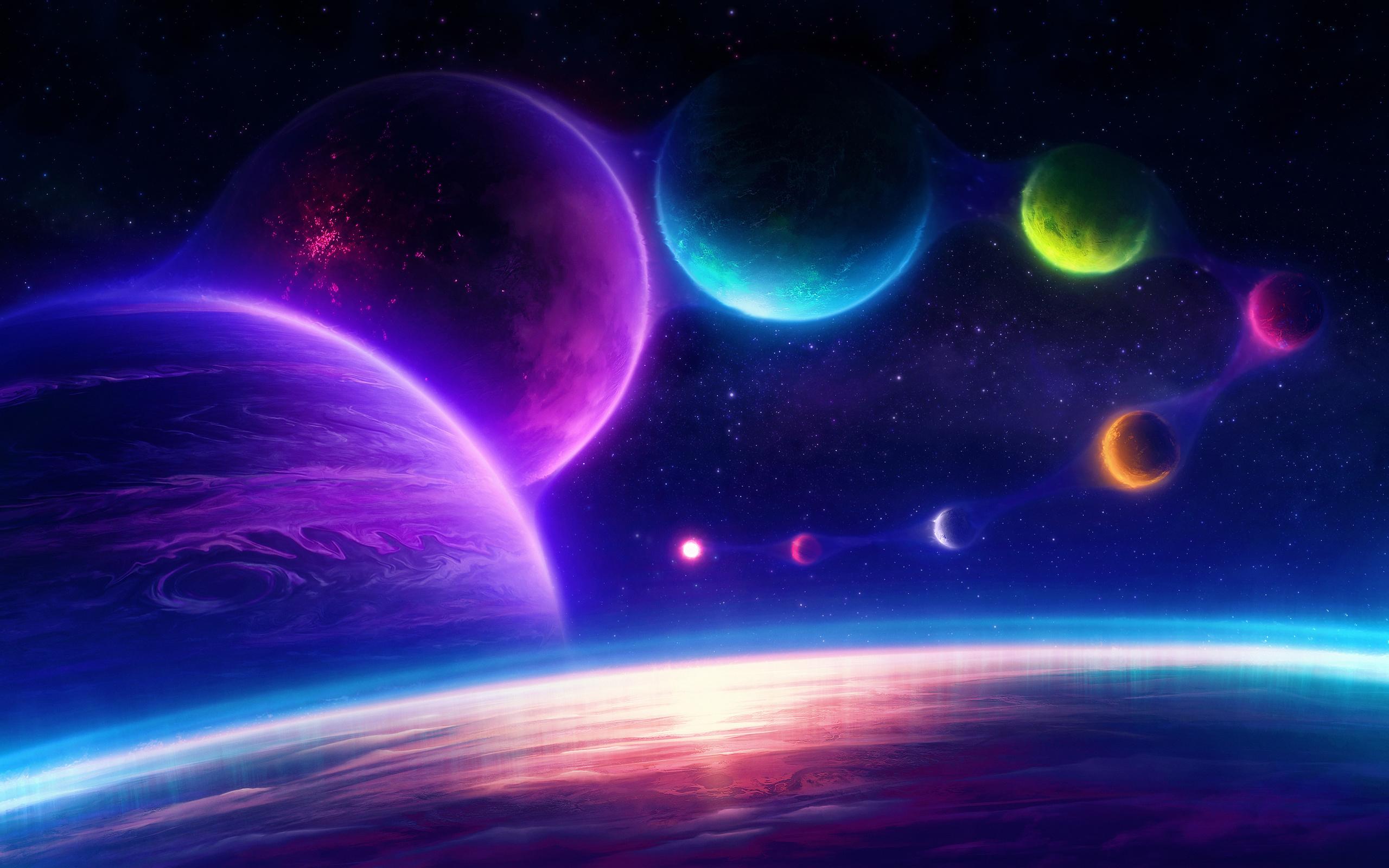 настоящему картинки разноцветных планет остается только