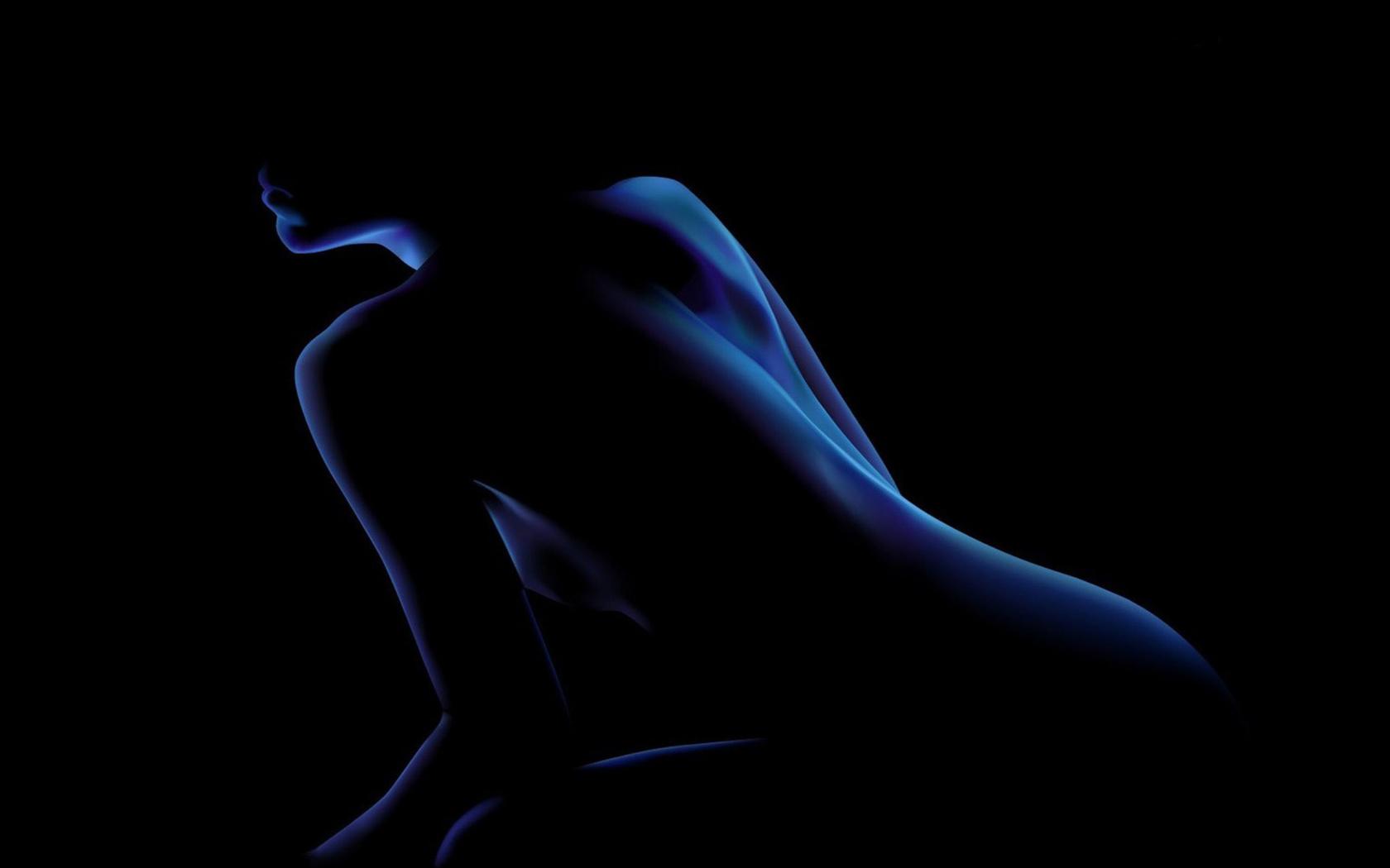 предназначен картинки женский силуэт в темноте повысите уровень