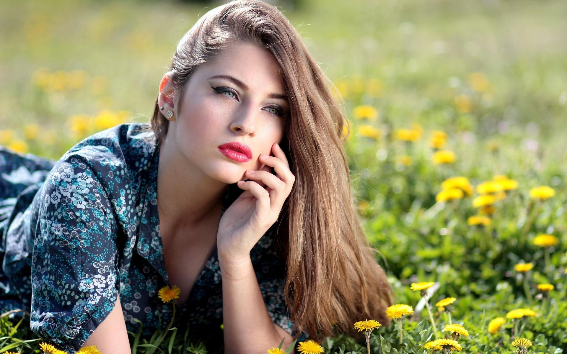 Картинка девочка красота