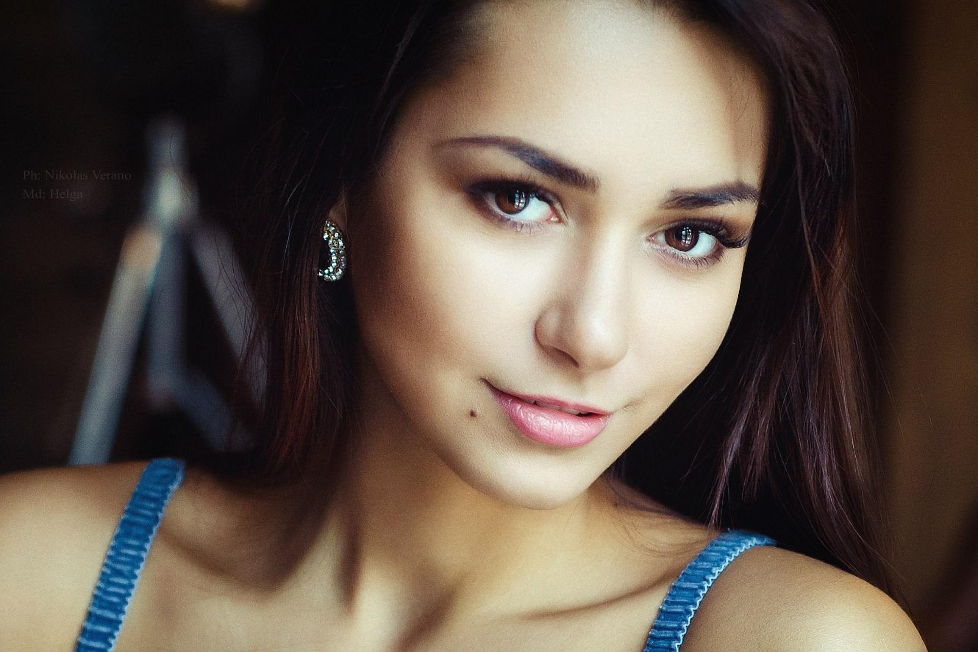 Картинки девушка, модель, позирует, helga lovekaty - обои
